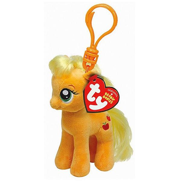 Пони Эпл Джек на брелке, 15 см, My little Pony, TyИгрушки<br>Пони Эпл Джек на брелке, 15 см, My little Pony (Моя маленькая Пони), Ty всегда может быть рядом! Она с удовольствием поселится на рюкзаке, телефоне или связке ключей. Игрушка выполнена в виде брелока. Пристегнуть ее можно с помощью карабина. Милая Пони Эпл Джек с невероятно добрыми искренними глазками еще никого не оставляла равнодушным! У пони мягкая шерстка бежевого цвета, светлая грива и длинный хвост. Она будет только радовать девочку своим улыбающимся личиком. Игрушка изготовлена из высококачественных материалов, которые не принесут вреда детскому здоровью.<br><br>Дополнительная информация:<br><br>- Игрушка развивает: тактильные навыки, зрительную координацию, мелкую моторику рук<br>- Яркие и стойкие цвета приятны для глаз<br>- Материал: текстиль, искусственный мех<br>- Наполнение: синтепон<br>- Размер игрушки: 15 см.<br><br>Мягкая игрушка Пони Эпл Джек на брелке, 15 см, My little Pony, Ty - подарите себе и своему ребенку частичку радости!<br><br>Мягкую игрушку Пони Эпл Джек на брелке, 15 см, My little Pony (Май литл Пони), Ty можно купить в нашем интернет-магазине.<br>Ширина мм: 360; Глубина мм: 190; Высота мм: 153; Вес г: 29; Возраст от месяцев: 36; Возраст до месяцев: 120; Пол: Женский; Возраст: Детский; SKU: 3789508;