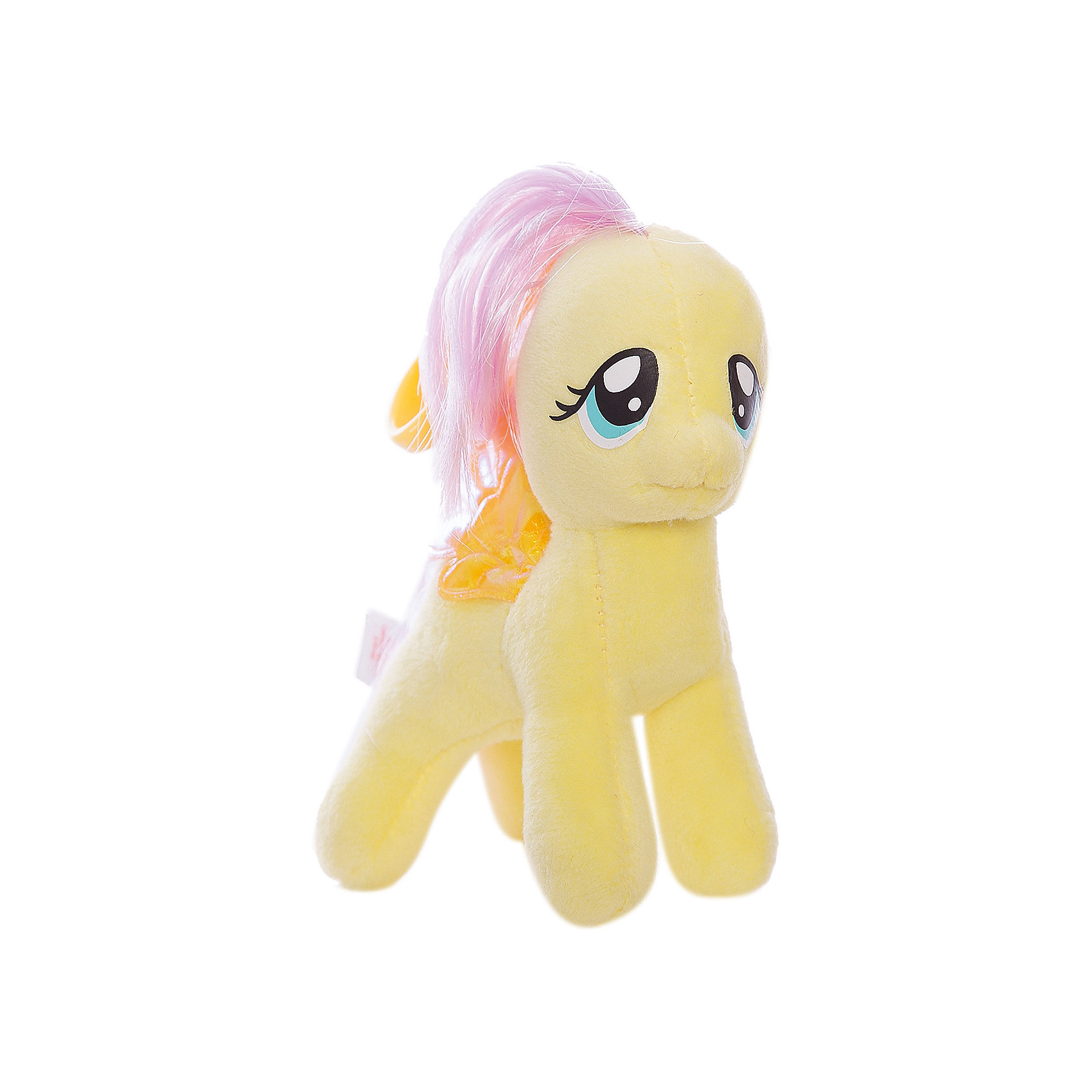 Ty Пони Fluttershy на брелке, 15 см, My little Pony, Ty ty frizzy домовёнок tang 15 см 37138
