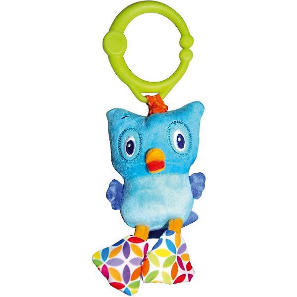 Развивающая игрушка Дрожащий дружок Сова, Bright StartsИгрушки для новорожденных<br>Развивающая игрушка Дрожащий дружок Сова, Bright Starts (Брайт Стартс) обязательно позабавит вашего малыша. Игрушка - сова прикреплена к кольцу. Как только ваш малыш потянет на нее, игрушка начнет смешно вибрировать. Кольцо можно прикрепить на кроватку, коляску или развивающий коврик. <br><br>Дополнительная информация:<br><br>-Тип: развивающая игрушка<br>-Материал корпуса: пластик, ткань, мех.<br>-Размеры: 8x5x26 см<br>-Вибрирует<br><br>Развивающую игрушку Дрожащий дружок Сову, Bright Starts (Брайт Стартс) можно купить в нашем магазине.<br><br>Ширина мм: 90<br>Глубина мм: 60<br>Высота мм: 290<br>Вес г: 87<br>Возраст от месяцев: 3<br>Возраст до месяцев: 36<br>Пол: Унисекс<br>Возраст: Детский<br>SKU: 3789516