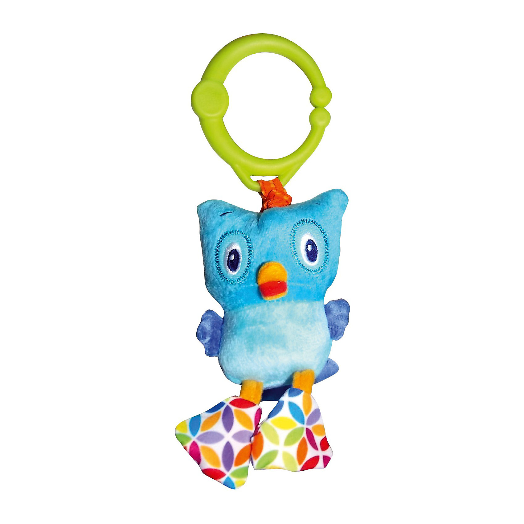 Развивающая игрушка Дрожащий дружок Сова, Bright StartsРазвивающие игрушки<br>Развивающая игрушка Дрожащий дружок Сова, Bright Starts (Брайт Стартс) обязательно позабавит вашего малыша. Игрушка - сова прикреплена к кольцу. Как только ваш малыш потянет на нее, игрушка начнет смешно вибрировать. Кольцо можно прикрепить на кроватку, коляску или развивающий коврик. <br><br>Дополнительная информация:<br><br>-Тип: развивающая игрушка<br>-Материал корпуса: пластик, ткань, мех.<br>-Размеры: 8x5x26 см<br>-Вибрирует<br><br>Развивающую игрушку Дрожащий дружок Сову, Bright Starts (Брайт Стартс) можно купить в нашем магазине.<br><br>Ширина мм: 90<br>Глубина мм: 60<br>Высота мм: 290<br>Вес г: 87<br>Возраст от месяцев: 3<br>Возраст до месяцев: 36<br>Пол: Унисекс<br>Возраст: Детский<br>SKU: 3789516