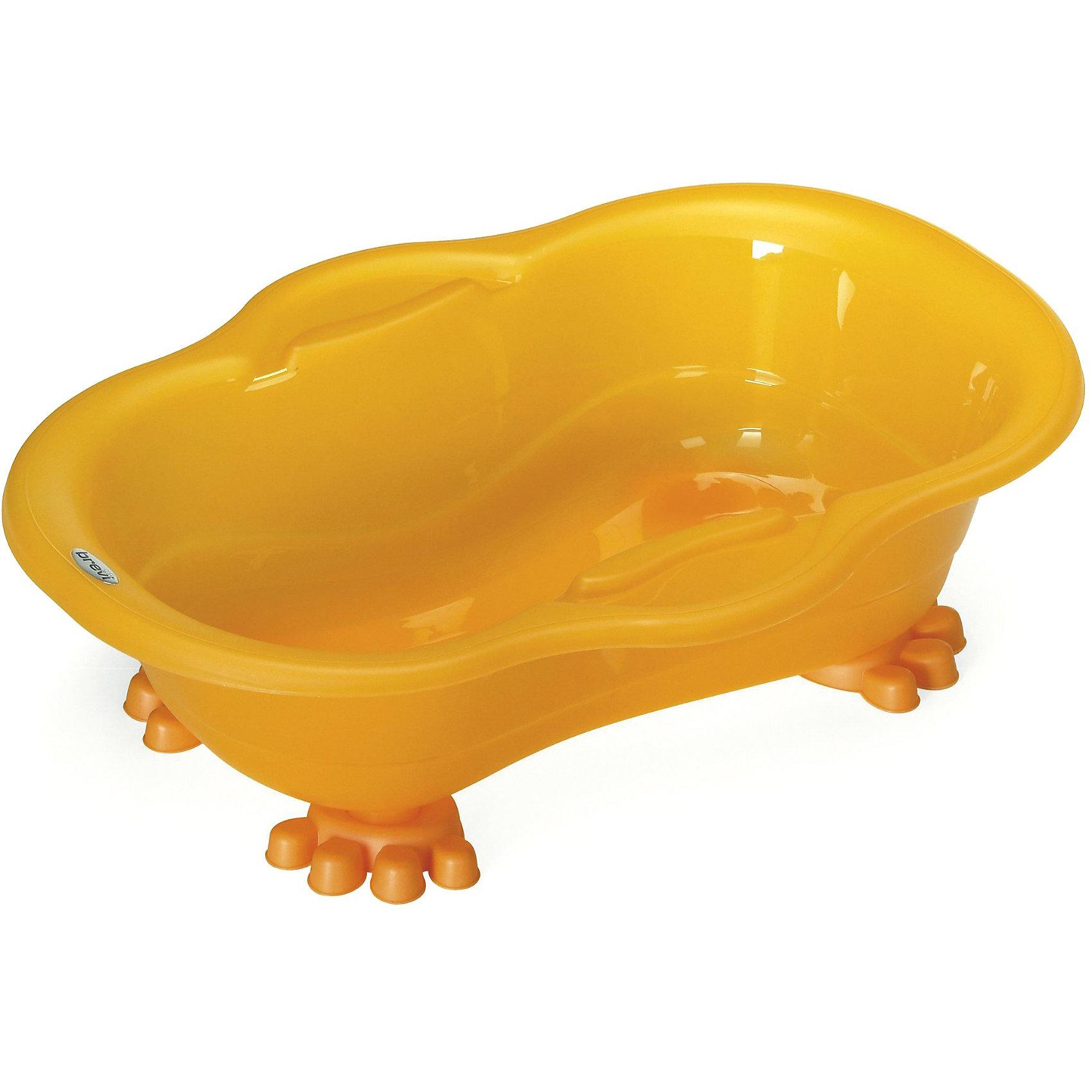Ванночка для купания Dou Dou, Brevi,  оранжевый