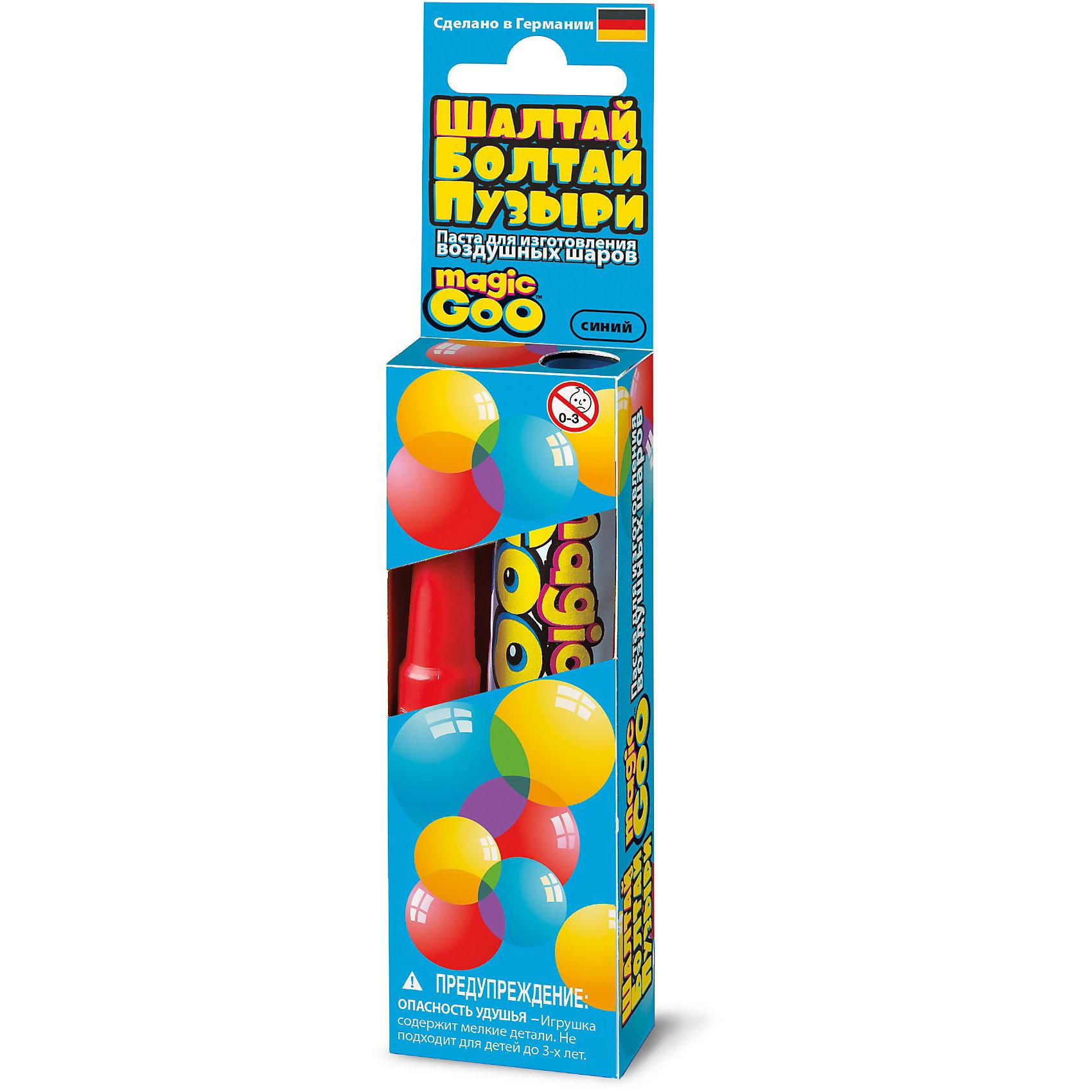 Шалтай-Болтай пузыри синие, 4M 00-06300BХимия<br>Создайте с помощью набора 4M Шалтай-Болтай гигантские, яркие и прочные пузыри, которые не лопнут в руках ребенка и позволят создать различные постройки и фигуры животных! В комплект входит:<br>- Тюбик с пастой для выдувания пузырей, 20 гр.<br>- Трубочка для выдувания пузырей<br>- Инструкция<br><br>Как создать мыльный пузырь<br>    Смочите пальцы и нанесите небольшое количество пасты на кончик трубочки. Размер шара зависит от количества пасты нанесенной на трубочку.<br>    Подуйте в трубочку с другого конца, сначала слабо, потом немного сильнее. Если шарик прорвался, просто сожмите края дырочки вместе. Внутри трубочки есть предохранительный клапан, который не дает воздуху выйти из шара.<br>    После получения необходимого размера шара снимите его с трубочки, плотно прижав края отверстия, через которое идет воздух. Шарик готов!<br><br>Выдутый пузырь диаметром 50 см. Впечатлит не только ребенка, но и взрослого! Удивите своих детей такими необычными наборами от компании 4M!<br><br>Ширина мм: 120<br>Глубина мм: 40<br>Высота мм: 20<br>Вес г: 50<br>Возраст от месяцев: 60<br>Возраст до месяцев: 96<br>Пол: Унисекс<br>Возраст: Детский<br>SKU: 3790343