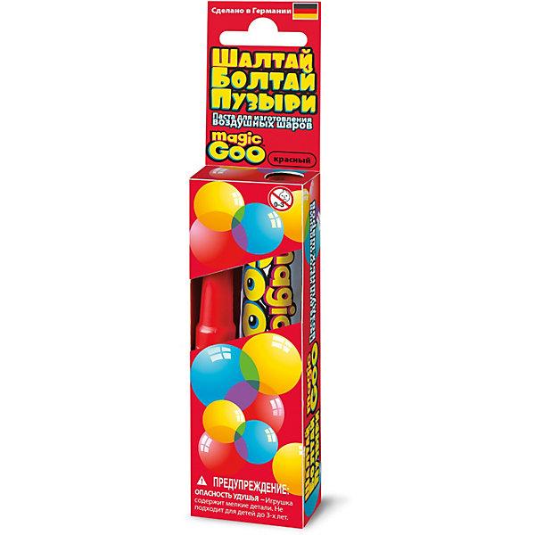 Шалтай-Болтай пузыри красные, 4M 00-06300RХимия и физика<br>Создайте с помощью набора 4M Шалтай-Болтай гигантские, яркие и прочные пузыри, которые не лопнут в руках ребенка и позволят создать различные постройки и фигуры животных! В комплект входит:<br>- Тюбик с пастой для выдувания пузырей, 20 гр.<br>- Трубочка для выдувания пузырей<br>- Инструкция<br><br> <br><br><br>Как создать мыльный пузырь<br><br>    Смочите пальцы и нанесите небольшое количество пасты на кончик трубочки. Размер шара зависит от количества пасты нанесенной на трубочку.<br>    Подуйте в трубочку с другого конца, сначала слабо, потом немного сильнее. Если шарик прорвался, просто сожмите края дырочки вместе. Внутри трубочки есть предохранительный клапан, который не дает воздуху выйти из шара.<br>    После получения необходимого размера шара снимите его с трубочки, плотно прижав края отверстия, через которое идет воздух. Шарик готов!<br><br>Выдутый пузырь диаметром 50 см. впечатлит не только ребенка, но и взрослого! Удивите своих детей такими необычными наборами от компании 4M!<br><br>Ширина мм: 120<br>Глубина мм: 40<br>Высота мм: 20<br>Вес г: 50<br>Возраст от месяцев: 60<br>Возраст до месяцев: 96<br>Пол: Унисекс<br>Возраст: Детский<br>SKU: 3790344