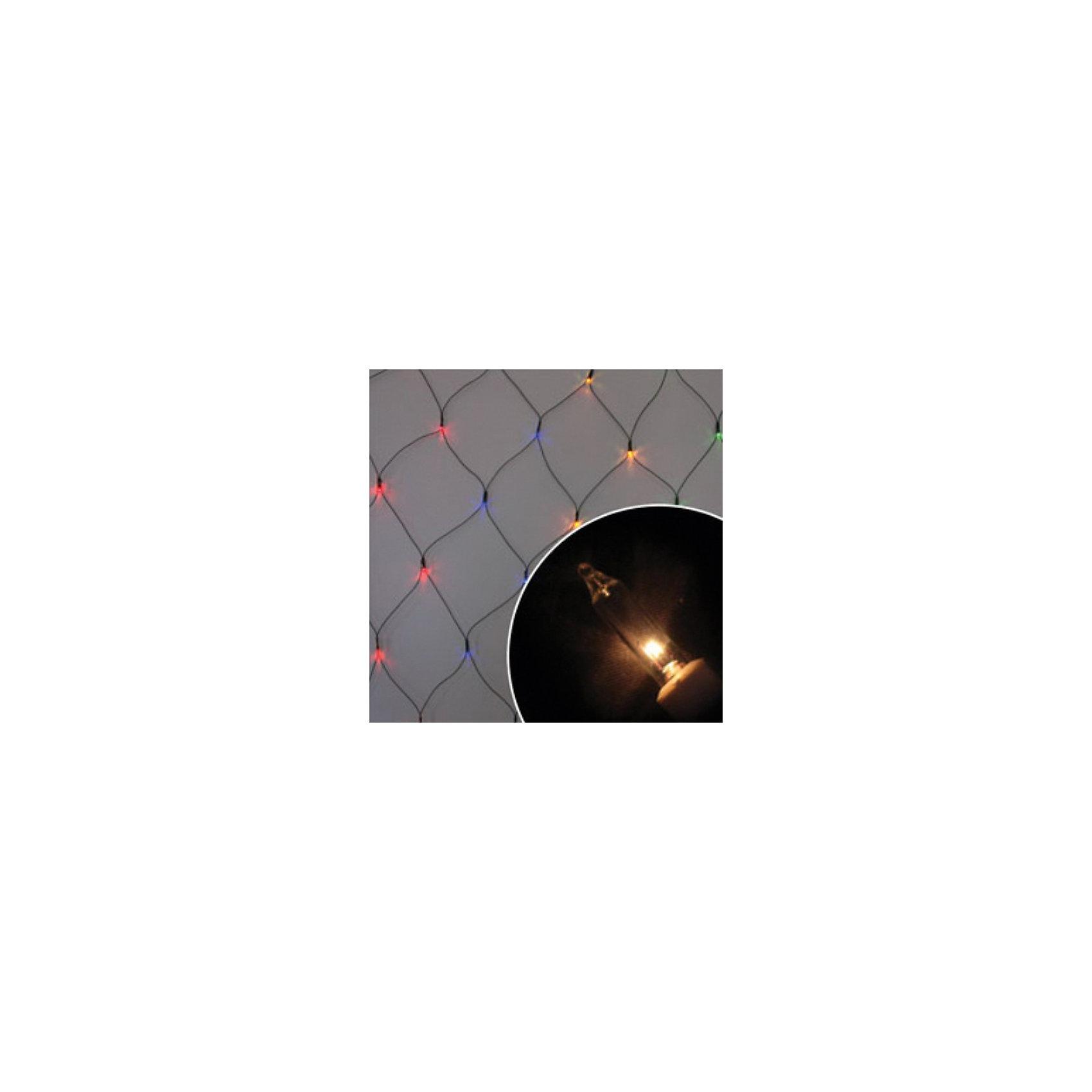 Электрогирлянда Сетка, 1,5х2,5 м,  многоцв., 240 лампЭлектрогирлянда Сетка, Волшебная страна станет замечательным украшением Вашей новогодней елки или интерьера и поможет создать праздничную волшебную атмосферу.<br>Оригинальная гирлянда в виде сетки состоит из 240 разноцветных мини-ламп и работает в восьми режимах мигания, она будет чудесно смотреться на елке и радовать детей и<br>взрослых. <br><br>Дополнительная информация:<br><br>- Размер гирлянды: 1,5 х 2,5 м.<br>- Размер упаковки: 56 x 9 x 10 см.<br>- Вес: 0,439 кг. <br>- Мощность: 115Вт<br>- Напряжение: 220-240В<br><br>Электрогирлянду Сетка, Волшебная страна можно купить в нашем интернет-магазине.<br><br>Ширина мм: 560<br>Глубина мм: 90<br>Высота мм: 100<br>Вес г: 439<br>Возраст от месяцев: 60<br>Возраст до месяцев: 180<br>Пол: Унисекс<br>Возраст: Детский<br>SKU: 3791282