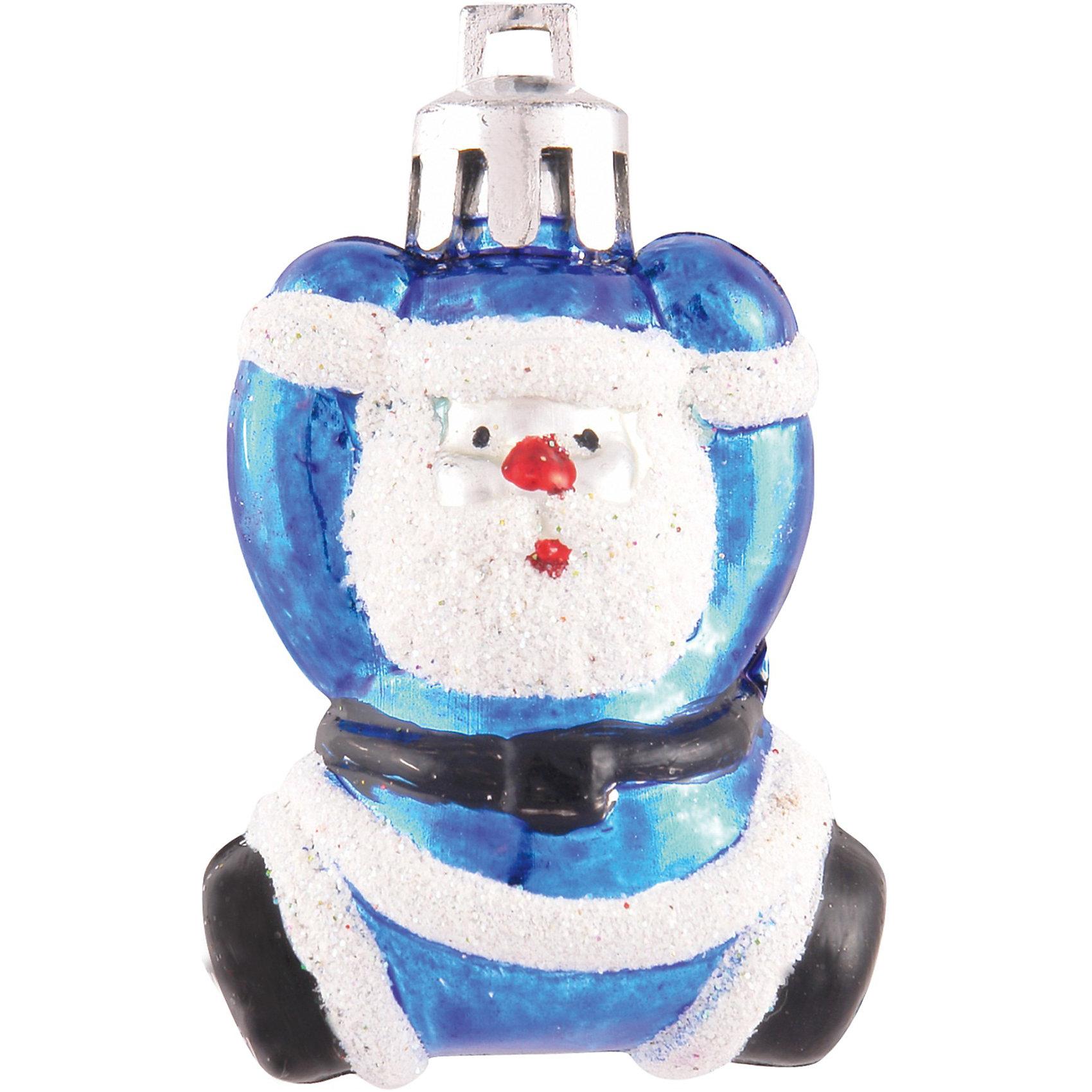 Елочное украшение «Веселый дед мороз», 5 см, 4 шт.Елочное украшение Веселый Дед Мороз, Волшебная страна замечательно дополнит наряд Вашей новогодней елки и поможет создать праздничную радостную атмосферу.<br>Украшение выполнено в виде фигурки Деда Мороза, оно будет чудесно смотреться на елке и радовать детей и взрослых. Игрушки упакованы в прозрачную коробочку из ПВХ.<br><br>Дополнительная информация:<br><br>- Цвет: синий.<br>- В комплекте: 4 шт.<br>- Размер украшения: 5 см.<br>- Размер упаковки: 5,3 x 2,8 x 5,8 см.<br>- Вес: 35 гр.<br><br>Елочное украшение Веселый Дед Мороз, Волшебная страна можно купить в нашем интернет-магазине.<br><br>Ширина мм: 280<br>Глубина мм: 30<br>Высота мм: 60<br>Вес г: 35<br>Возраст от месяцев: 60<br>Возраст до месяцев: 180<br>Пол: Унисекс<br>Возраст: Детский<br>SKU: 3791348
