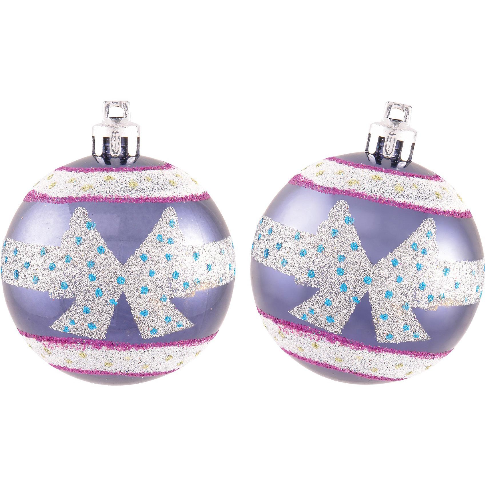 Шары с рисунком, 6 см, 6 шт., цвет - синий + сереброШары с рисунком, Волшебная страна станут замечательным украшением для Вашей новогодней елки и помогут создать праздничную волшебную атмосферу. В комплекте шесть<br>синих шаров, украшенных серебристыми узорами, они будут чудесно смотреться на елке и радовать детей и взрослых. Шары упакованы в прозрачную коробочку из ПВХ.<br><br>Дополнительная информация:<br><br>- Цвет: синий + серебро.<br>- В комплекте: 6 шт.<br>- Диаметр шара: 6 см.<br>- Размер упаковки: 17,5 x 11,5 x 5,7 см.<br>- Вес: 89 гр.<br><br>Шары с рисунком, Волшебная страна, можно купить в нашем интернет-магазине.<br><br>Ширина мм: 370<br>Глубина мм: 120<br>Высота мм: 60<br>Вес г: 89<br>Возраст от месяцев: 60<br>Возраст до месяцев: 180<br>Пол: Унисекс<br>Возраст: Детский<br>SKU: 3791386