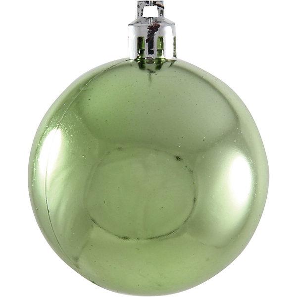 Шары в наборе, 6 см, 6 шт.Ёлочные игрушки<br>Шары, Волшебная страна станут замечательным украшением для Вашей новогодней елки и помогут создать праздничную волшебную атмосферу. В комплекте шесть шаров: 4<br>прозрачных зеленых с рисунком и 2 сверкающих, они будут чудесно смотреться на елке и радовать детей и взрослых. Шары упакованы в прозрачную коробочку из ПВХ.<br><br>Дополнительная информация:<br><br>- Цвет: золотой/зеленый.<br>- В комплекте: 6 шт.<br>- Диаметр шара: 6 см.<br>- Размер упаковки: 17,5 x 6 x 11,5 см.<br>- Вес: 95 гр.<br><br>Шары в наборе, Волшебная страна можно купить в нашем интернет-магазине.<br><br>Ширина мм: 370<br>Глубина мм: 120<br>Высота мм: 60<br>Вес г: 95<br>Возраст от месяцев: 60<br>Возраст до месяцев: 180<br>Пол: Унисекс<br>Возраст: Детский<br>SKU: 3791397