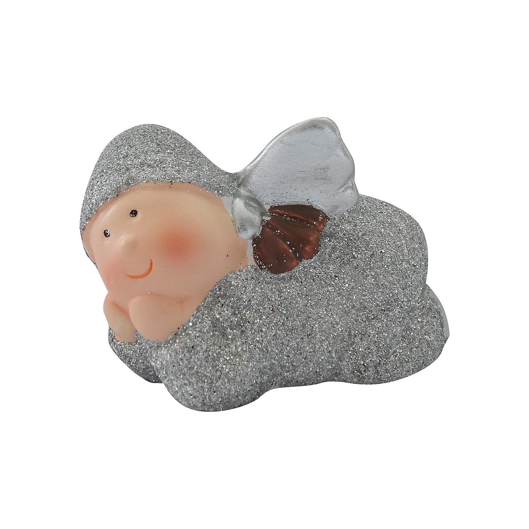 Сувенир керамический АнгелСувенир керамический Ангел, Волшебная страна станет замечательным украшением Вашего новогоднего интерьера и приятным подарком для родных и друзей. Сувенир<br>выполнен в виде фигурки забавного ангелочка в серебристом наряде. <br><br>Дополнительная информация:<br><br>- Материал: керамика.<br>- Размер: 7,6 x 4,7 x 4,9 см.<br>- Вес: 80 гр. <br><br>Сувенир керамический Ангел, Волшебная страна можно купить в нашем интернет-магазине.<br><br>Ширина мм: 520<br>Глубина мм: 60<br>Высота мм: 60<br>Вес г: 80<br>Возраст от месяцев: 60<br>Возраст до месяцев: 180<br>Пол: Унисекс<br>Возраст: Детский<br>SKU: 3791445