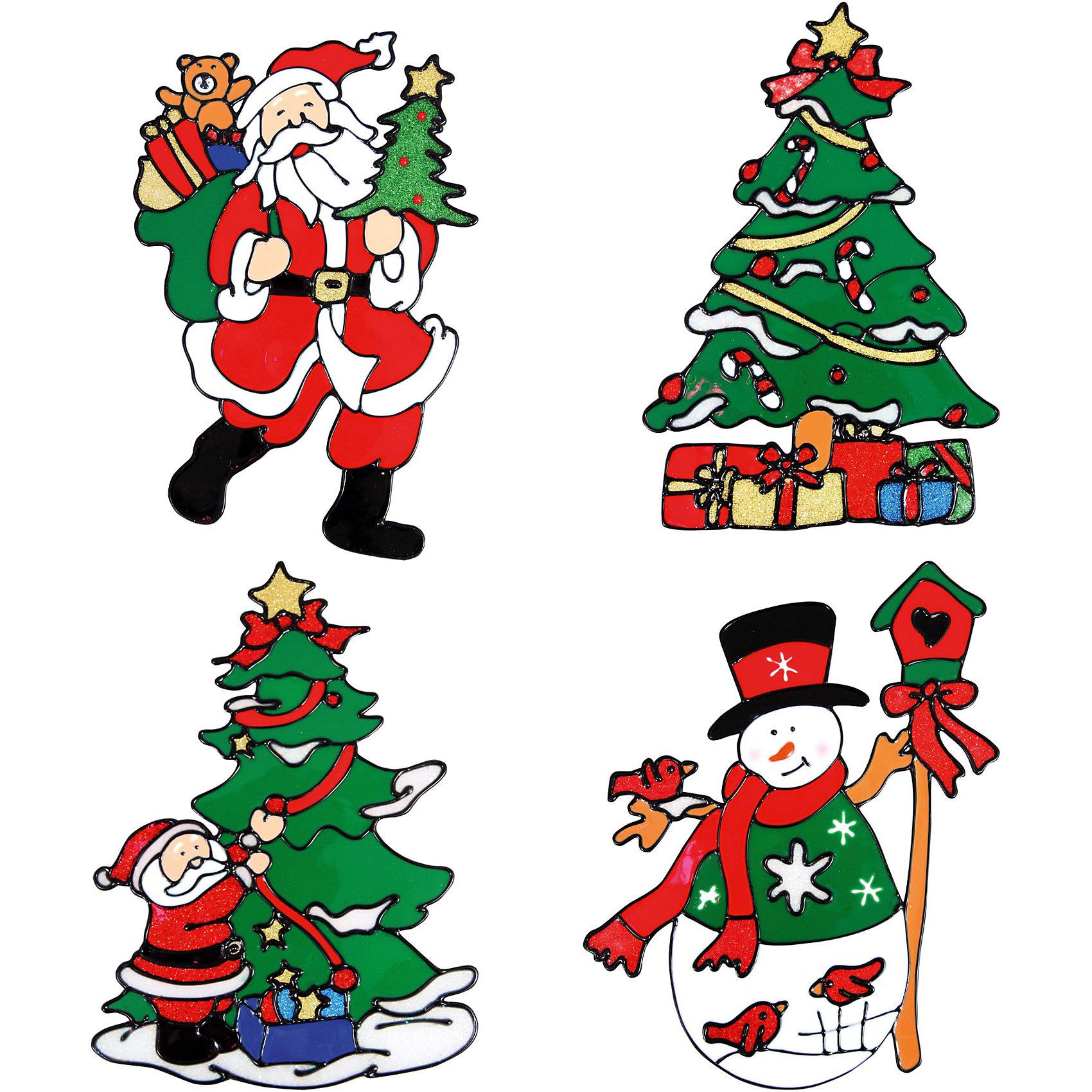 Декоративное украшение (наклейка на окно), 22,5 см, в ассортиментеВсё для праздника<br>Декоративное украшение (наклейка на окно), Волшебная страна замечательно украсит Ваш интерьер и создаст праздничное новогоднее настроение. В ассортименте представлены 4 варианта дизайна наклеек: елочка, снеговик и 2 разных картинки с изображением Деда Мороза.<br><br>Дополнительная информация:<br><br>- Размер наклейки: 22,5 см.<br>- Вес: 42 гр. <br><br>Декоративное украшение (наклейку на окно), Волшебная страна можно купить в нашем интернет-магазине.<br><br>ВНИМАНИЕ! Данный артикул имеется в наличии в разных вариантах исполнения. Заранее выбрать определенный вариант нельзя. При заказе нескольких наклеек возможно получение одинаковых.<br><br>Ширина мм: 320<br>Глубина мм: 120<br>Высота мм: 200<br>Вес г: 42<br>Возраст от месяцев: 60<br>Возраст до месяцев: 180<br>Пол: Унисекс<br>Возраст: Детский<br>SKU: 3791448
