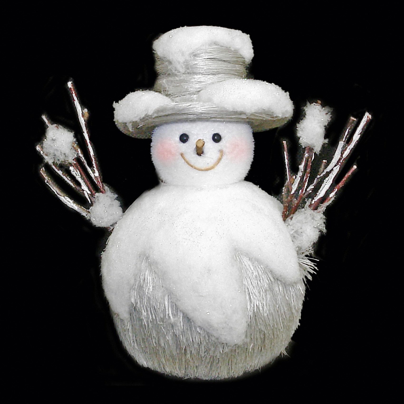 Сувенир СнеговикСувенир Снеговик, Волшебная страна станет замечательным украшением Вашего новогоднего интерьера и приятным подарком для родных и друзей. Сувенир выполнен в виде<br>забавного снеговика с руками-веточками и изготовлен из мягкого, приятного на ощупь материла. Упакован в коробочку ПВХ. <br><br>Дополнительная информация:<br><br>- Вес: 140 гр. <br><br>Сувенир Снеговик, Волшебная страна можно купить в нашем интернет-магазине.<br><br>Ширина мм: 500<br>Глубина мм: 120<br>Высота мм: 340<br>Вес г: 140<br>Возраст от месяцев: 60<br>Возраст до месяцев: 180<br>Пол: Унисекс<br>Возраст: Детский<br>SKU: 3791457