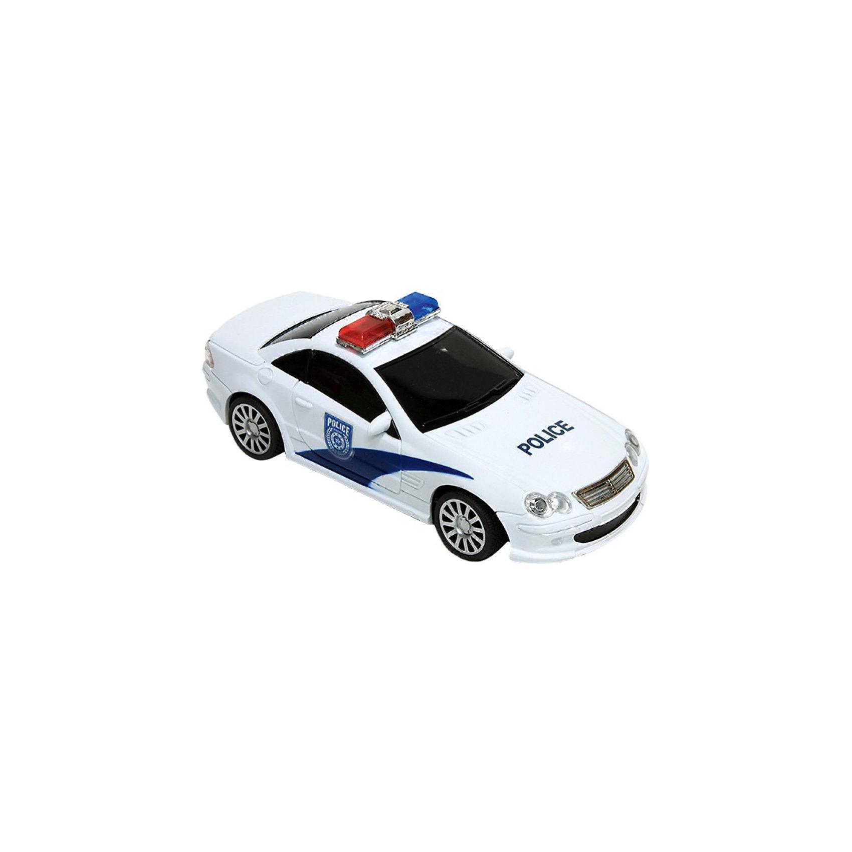 Автомобиль City Police, на р/у, Mioshi TechАвтомобиль City Police, на радиоуправлении, Mioshi Tech  станет отличным подарком для мальчика.<br>Эта радиоуправляемая машинка - миниатюрная копия настоящего полицейского автомобиля!  Реалистичный дизайн, яркие светящиеся фары и сигнальные огни делают её ещё более эффектной. Она отлично подходит для игр дома, ведь её колёса не оставляют следов при езде.<br><br>Дополнительная информация:<br><br>- В комплекте: автомобиль, аккумуляторная батарея, зарядное устройство, пульт управления<br>- Материал: металл<br>- Размер: 25 см.<br>- Размер упаковки: 16 х 13 х 34 см.<br>- Вес: 583 гр.<br><br>Автомобиль City Police, на радиоуправлении, Mioshi Tech  можно купить в нашем интернет-магазине.<br><br>Ширина мм: 340<br>Глубина мм: 160<br>Высота мм: 130<br>Вес г: 583<br>Возраст от месяцев: 72<br>Возраст до месяцев: 180<br>Пол: Мужской<br>Возраст: Детский<br>SKU: 3793854