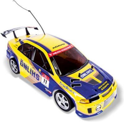 Автомобиль On-road rally racer , на р/у, жёлтый, Mioshi Tech