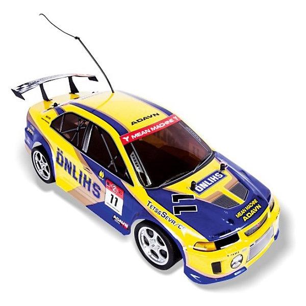 Автомобиль On-road rally racer, на р/у, жёлтый, Mioshi TechРадиоуправляемые машины<br>Этот радиоуправляемый автомобиль способен развивать скорость до 20 км/ч! Металлические детали делают конструкцию модели прочной. Машина уверенно проходит путь благодаря независимым передней и задней подвескам. Подсветка колёс придает ещё большую зрелищность!<br><br>Дополнительная информация:<br><br>- В комплекте: автомобиль, аккумуляторная батарея, зарядное устройство, профессиональный пульт управления с колесом, батарейка для пульта, инструкция<br>- Радиоуправляемая модель, полукопия автомобиля в масштабе 1:10 с задним приводом<br>- Материал: пластиковая рама, металлические детали<br>- Движение: вперед/назад, вправо/влево<br>- Частота: 27 мГц.<br>- Колесная база: 252 мм.<br>- Клиренс: 21 мм.<br>- Тип двигателя: электрический<br>- Пульт ДУ: удобный двухканальный пульт пистолетного типа<br>- Управление: автомобиль управляется по двум каналам, вперед-назад и влево вправо при помощи сервомеханизма<br>- Питание устройства: 1 x аккумулятор Ni-Cd/Ni-cd аккумулятор и зарядное устройство в комплекте<br>- Питание ПДУ: 2 x 9 V Крона<br>- Напряжение питания: 7.2 В<br>- Емкость аккумулятора: 600 мА•ч<br>- Размеры: 18.5 x 140 x 425 мм.<br>- Размер упаковки: 55.65 x 20.23 x 22.59 см<br>- Вес: 1.97 кг.<br><br>Автомобиль On-road rally racer, на радиоуправлении, жёлтый, Mioshi Tech  можно купить в нашем интернет-магазине.<br><br>Ширина мм: 555<br>Глубина мм: 225<br>Высота мм: 200<br>Вес г: 2333<br>Возраст от месяцев: 72<br>Возраст до месяцев: 180<br>Пол: Мужской<br>Возраст: Детский<br>SKU: 3793856