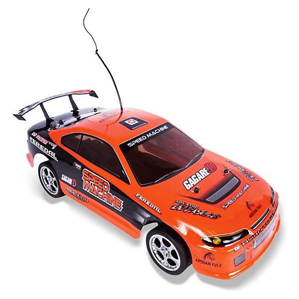 Автомобиль On-road rally racer, на р/у, красный, Mioshi TechРадиоуправляемые машины<br>Автомобиль On-road rally racer, на радиоуправлении, красный, Mioshi Tech  способен развивать скорость до 20 км/ч! Металлические детали делают конструкцию модели прочной. Машина уверенно проходит путь благодаря независимым передней и задней подвескам. Подсветка колёс придает ещё большую зрелищность!<br><br>Дополнительная информация:<br><br>- В комплекте: автомобиль, аккумуляторная батарея, зарядное устройство, профессиональный пульт управления с колесом, батарейка для пульта, инструкция<br>- Радиоуправляемая модель, полукопия автомобиля в масштабе 1:10 с задним приводом<br>- Материал: пластиковая рама, металлические детали<br>- Движение: вперед/назад, вправо/влево<br>- Частота: 27 мГц.<br>- Колесная база: 252 мм.<br>- Клиренс: 21 мм.<br>- Тип двигателя: электрический<br>- Пульт ДУ: удобный двухканальный пульт пистолетного типа<br>- Управление: автомобиль управляется по двум каналам, вперед-назад и влево вправо при помощи сервомеханизма<br>- Питание устройства: 1 x аккумулятор Ni-Cd/Ni-cd аккумулятор и зарядное устройство в комплекте<br>- Питание ПДУ: 2 x 9 V Крона<br>- Напряжение питания: 7.2 В<br>- Емкость аккумулятора: 600 мА•ч<br>- Размеры: 18.5 x 140 x 425 мм.<br>- Размер упаковки: 55.65 x 20.23 x 22.59 см<br>- Вес: 1.97 кг.<br><br>Автомобиль On-road rally racer, на радиоуправлении, красный, Mioshi Tech  можно купить в нашем интернет-магазине.<br><br>Ширина мм: 555<br>Глубина мм: 225<br>Высота мм: 200<br>Вес г: 2333<br>Возраст от месяцев: 72<br>Возраст до месяцев: 180<br>Пол: Мужской<br>Возраст: Детский<br>SKU: 3793857