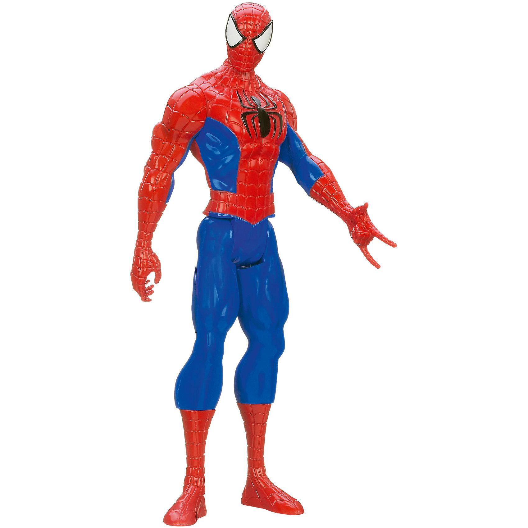 Титаны: совершенный Человек-паукФигурка Титаны: совершенный Человек-паук станет приятным сюрпризом для Вашего ребенка, особенно если он является поклонником популярных фильмов и комиксов о Человеке-Пауке (Spider-Man). Большая фигурка выполнена с высокой степенью детализации и полностью повторяет своего экранного персонажа. Теперь можно разыгрывать по-настоящему масштабные сражения с любимым персонажем. У фигурки подвижные части тела.<br><br>Дополнительная информация:<br><br>- Материал: пластик.<br>- Размер игрушки: 30 см.<br>- Размер упаковки: 30 х 10 х 5 см. <br>- Вес: 0,3 кг. <br><br>Фигурку Титаны: совершенный Человек-паук (Спайдер-Мен) можно купить в нашем интернет-магазине.<br><br>Ширина мм: 309<br>Глубина мм: 98<br>Высота мм: 56<br>Вес г: 299<br>Возраст от месяцев: 48<br>Возраст до месяцев: 96<br>Пол: Мужской<br>Возраст: Детский<br>SKU: 3795560