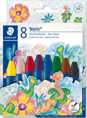 Staedtler Мелки восковые NorisClub Jumbo, набор 8 цветов