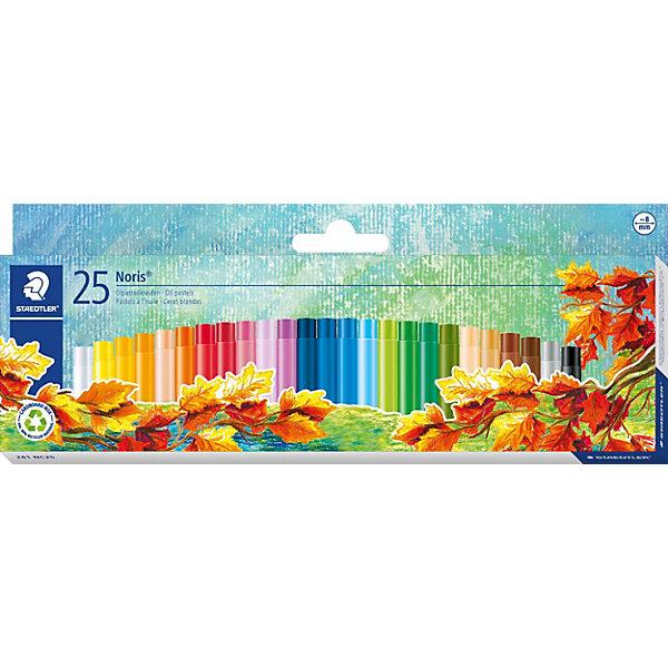 Масляная пастель NorisClub, 24 цв.Пастель Уголь<br>Пастель масляная Noris Club, набор 25 цветов. Картонная упаковка. Подходит для рисования, перекрытия цвета и техники процарапывания. Держится на всех гладких поверхностях. Высокая устойчивость к поломке. Бумажная манжетка с полем для имени. Яркие цвета.<br><br>Ширина мм: 256<br>Глубина мм: 101<br>Высота мм: 20<br>Вес г: 168<br>Возраст от месяцев: 60<br>Возраст до месяцев: 120<br>Пол: Унисекс<br>Возраст: Детский<br>SKU: 3797327