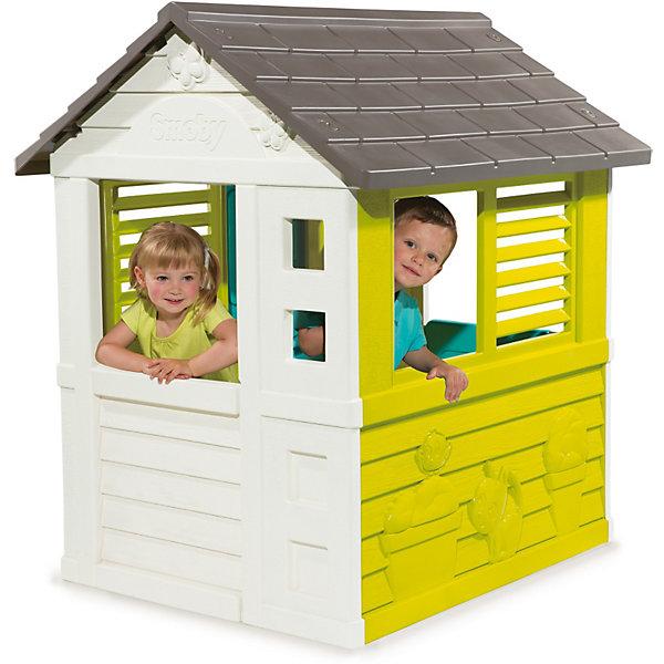 Игровой домик, BG, SmobyДомики и мебель<br><br><br>Ширина мм: 1130<br>Глубина мм: 195<br>Высота мм: 990<br>Вес г: 14217<br>Возраст от месяцев: 24<br>Возраст до месяцев: 1164<br>Пол: Унисекс<br>Возраст: Детский<br>SKU: 3800181