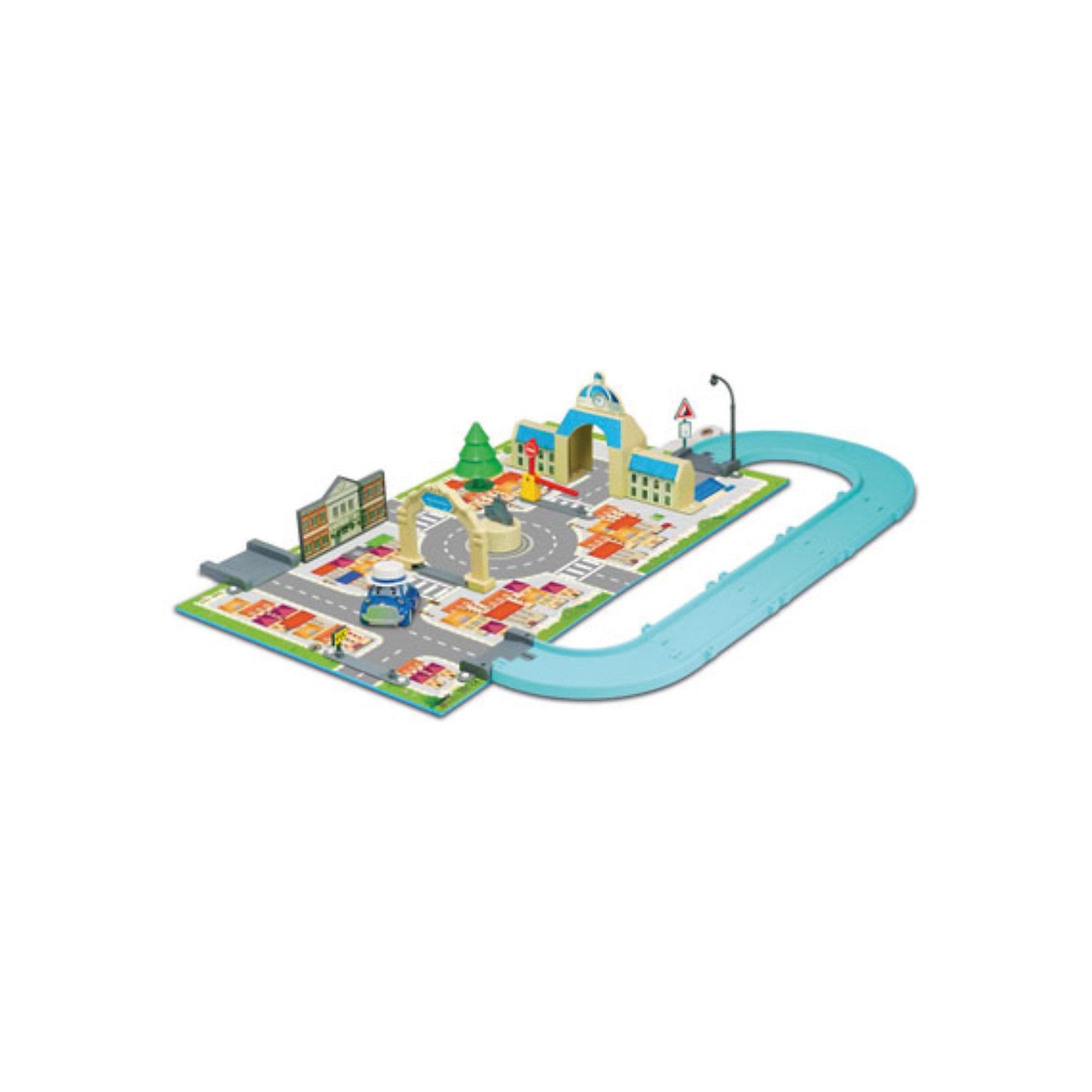 Игровой набор Мэрия, Робокар ПолиИгровой набор Мэрия, Робокар Поли – это восхитительная игрушка по мотивам популярного мультсериала «Робокар Поли и его друзья»  (Robocar Poli).<br>Замечательный игровой набор Мэрия Робокар Поли - представляет собой игровое поле с детально нарисованными дорогами, переходами и городскими пейзажами городка Брумстаун из популярного мультсериала «Робокар Поли и его друзья». На участке игрушечного города есть детально проработанное здание городской мэрии, фонарь, шлагбаум, ёлка, дорожные знаки, ворота и многие другие элементы для увлекательной игры. В комплекте - металлическая машинка ретро Мусти. В удивительном городе Брумстаун каждый день что-то происходит. О нём можно посмотреть мультфильм, но, конечно, гораздо интересней создавать события своими руками. Со временем свой город Брумстаун малыш сможет населить и другими жителями – автомобильчиками, героями мультсериала. <br>Вместе с ребенком Вы сможете также расширить город - покупая другие игровые наборы Робокар Поли. Все они легко стыкуются друг с другом, и получается полноценный многофункциональный город с различными возможностями для сюжетных игр Вашего ребенка. <br>Игры с набором благотворно скажутся на развитии мышления, логики, фантазии, концентрации внимания, мелкой моторики и точности движений. Игрушка изготовлена из высококачественных, безопасных и экологически чистых материалов, использованные красители не токсичны и гипоаллергенны.<br><br>Дополнительная информация:<br><br>- В комплекте: металлическая машинка ретро Мусти<br>- Размер машинки: 6 см.<br>- Материал: пластик<br>- Игровое поле сделано из качественного плотного материала, который не гнётся, не мнётся и не рвётся<br>- Размеры игрового поля: 50х30 см.<br>- Набор легко взять с собой, он собирается в виде небольшого чемоданчика<br>- Размер упаковки: 400х260х60 мм.<br>- Вес: 752 гр.<br><br>Игровой набор Мэрия, Робокар Поли можно купить в нашем интернет-магазине.<br><br>Ширина мм: 400<br>Глубина мм: 260<br>Высота мм: 60<br>