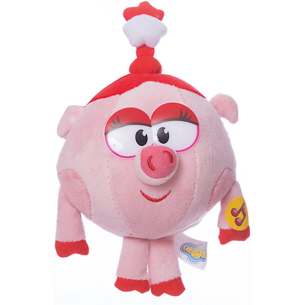 Нюша, 10 см, со звуком, Смешарики, МУЛЬТИ-ПУЛЬТИМягкие игрушки из мультфильмов<br>Нюша, 10 см, со звуком, Смешарики, МУЛЬТИ-ПУЛЬТИ – это игрушка-приятель персонаж популярного российского мультфильма.<br>Мягкая игрушка Нюша из мультфильма Смешарики, станет незаменимым другом вашего малыша. Ребенок никогда не соскучится, потому что Нюша умеет произносить веселые фразы. Модница Нюша очень нарядная, а на головке у нее одета забавная косичка с бантиком. Игрушка выполнена из мягкого плюшевого материала.<br><br>Дополнительная информация:<br><br>- Размер: 10 см.<br>- Материал: плюш, синтепон, текстиль<br>- Батарейки: 3 х LR44 (входят в комплект)<br><br>Мягкую игрушку Нюша, 10 см, со звуком, Смешарики, МУЛЬТИ-ПУЛЬТИ можно купить в нашем интернет-магазине.<br><br>Ширина мм: 100<br>Глубина мм: 100<br>Высота мм: 100<br>Вес г: 150<br>Возраст от месяцев: 36<br>Возраст до месяцев: 84<br>Пол: Женский<br>Возраст: Детский<br>SKU: 3802643