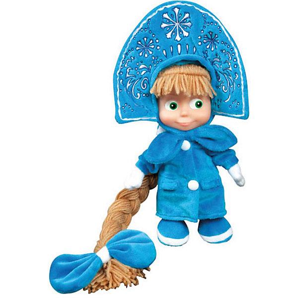 Мягкая игрушка Маша-Снегурочка, Маша и медведь, МУЛЬТИ-ПУЛЬТИМягкие игрушки из мультфильмов<br>Мягкая игрушка Маша-Снегурочка, Маша и медведь, МУЛЬТИ-ПУЛЬТИ – это прекрасным подарок на любой другой праздник.<br>Забавная Маша из мультфильма Маша и Медведь в образе Снегурочки. На Маше надета голубая шубка, варежки в тон и шикарная корона. Завершает новогодний образ Снегурочки длинная коса. Маша с радостью споет песенку (голосом персонажа) и произнесет несколько фраз из известного и любимого многими детьми мультфильма. У игрушки пластиковое лицо. Игрушка Маша-Снегурочка изготовлена из высококачественных экологически-чистых материалов и соответствует европейским и мировым стандартам качества.<br><br>Дополнительная информация:<br><br>- Высота игрушки: 30 см.<br>- Материал: искусственный мех, полиэстер, элементы пластмассы<br>- Батарейки: 3 типа LR44 (в комплекте)<br><br>Мягкую игрушку Маша-Снегурочка, Маша и медведь, МУЛЬТИ-ПУЛЬТИ можно купить в нашем интернет-магазине.<br><br>Ширина мм: 190<br>Глубина мм: 320<br>Высота мм: 90<br>Вес г: 290<br>Возраст от месяцев: 12<br>Возраст до месяцев: 60<br>Пол: Унисекс<br>Возраст: Детский<br>SKU: 3804874