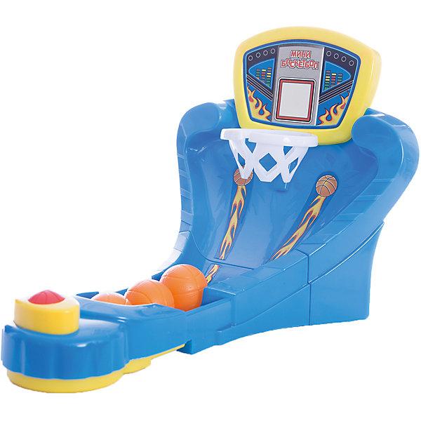 Настольная игра  Мини-баскетбол, Играем вместеНастольные игры для всей семьи<br>Настольная игра  Мини-баскетбол, Играем вместе – это веселая игра, не даст скучать вашим детям, и позволит весело провести время!<br>Настольная игра «Мини-баскетбол» своеобразный тренажер для развития мелкой моторики рук, координации движений, глазомера. «Мини-баскетбол» - это замечательная находка для детей и родителей. Ребенок очень быстро освоит эту захватывающую и зрелищную настольную игру! Игра может использоваться как в домашних условиях, так и в детских учреждениях. Это динамичная игра, способная разнообразить досуг вашего ребенка. Игрушка отвечает стандартам качества и безопасности.<br><br>Дополнительная информация:<br><br>- В наборе: установка для настольной игры «Мини-баскетбол», 3 мяча<br>- Количество игроков: от 1 до 2 человек<br>- Материал: пластмасса<br>- Размер упаковки: 36 х 25 х 5,5 см.<br><br>Настольную игру  Мини-баскетбол, Играем вместе купить в нашем интернет-магазине.<br>Ширина мм: 250; Глубина мм: 370; Высота мм: 60; Вес г: 480; Возраст от месяцев: 36; Возраст до месяцев: 60; Пол: Мужской; Возраст: Детский; SKU: 3804883;