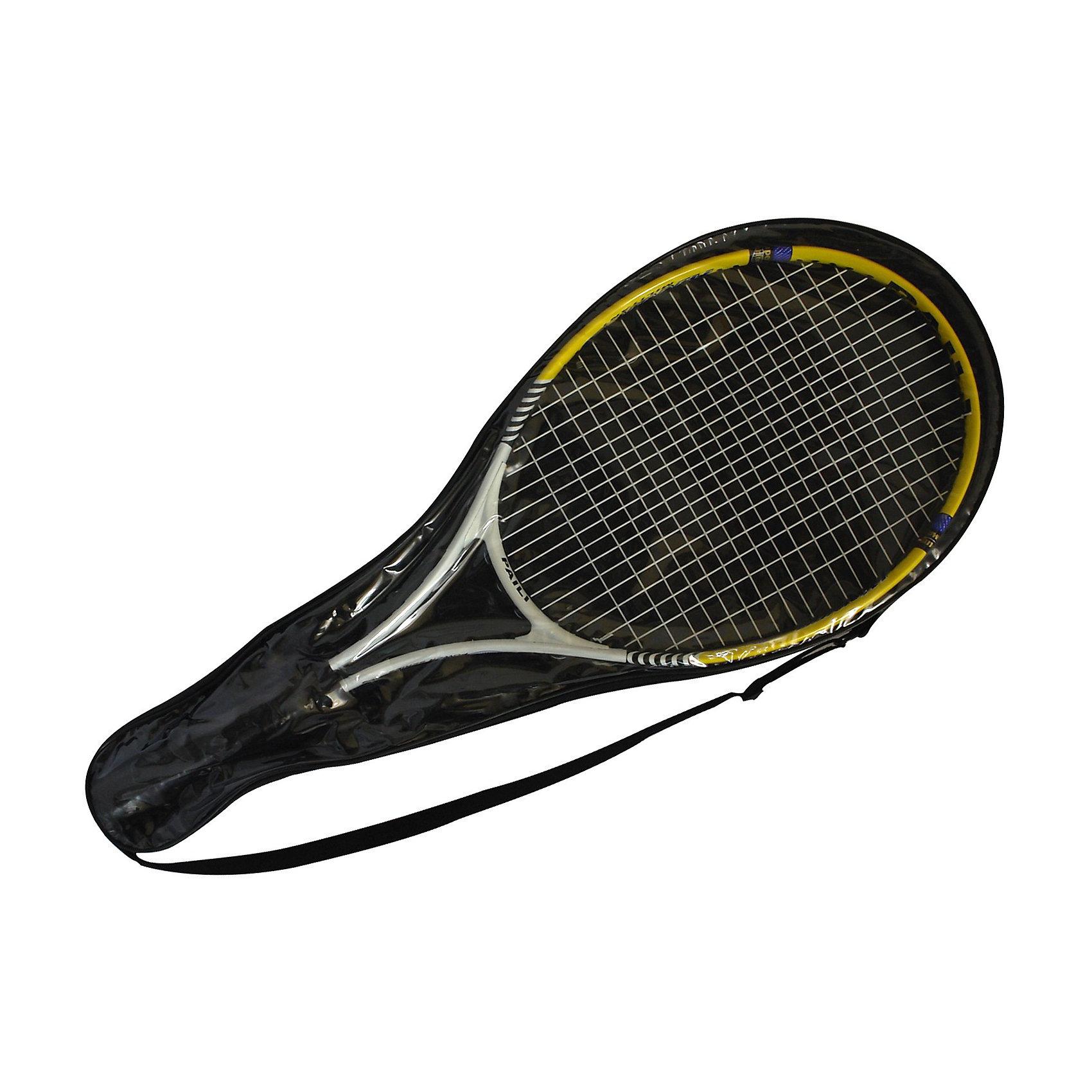 Ракетка для игры в теннис,  EcosРакетка для игры в большой теннис,  Ecos. Легкая и удобная ракетка упакована в специальный чехол для переноски. Прекрасно подойдет для начинающих спортсменов.<br><br>Дополнительная информация:<br><br>-Комплектация: 1 ракетка в чехле<br>-Материал: алюминий<br>-Размеры: 67,50 х 26,5 см<br>-Вес в ед. упаковке: 350 г<br><br>Ракетку для игры в теннис,  Ecos можно купить в нашем магазине<br><br>Ширина мм: 693<br>Глубина мм: 305<br>Высота мм: 45<br>Вес г: 404<br>Возраст от месяцев: 84<br>Возраст до месяцев: 192<br>Пол: Унисекс<br>Возраст: Детский<br>SKU: 3806387