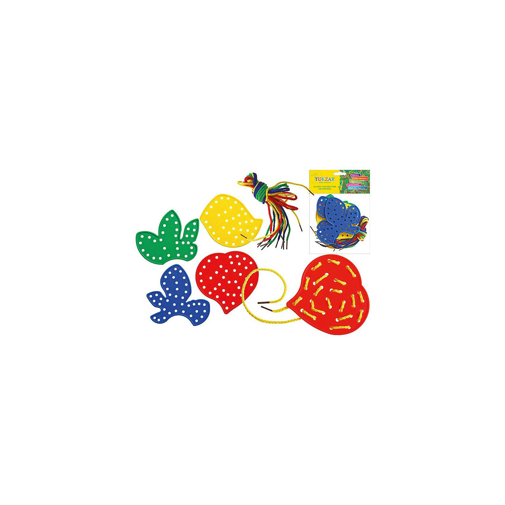 Развивающий набор пластиковых шнуровок Листья (8 шт), ТукзарНабор пластиковых шнуровок Листья, Тукзар - прекрасно развивает мелкую моторику и творческие способности.<br><br>Дополнительная информация:<br><br>- Цвет: красный, желтый, зеленый, синий.<br>- Материал: пластик, полиэстер.<br>- Размер упаковки: 24 х 15,5 х 4 см<br><br>Развивающий набор пластиковых шнуровок Листья (8 шт), Тукзар  можно купить в нашем магазине.<br><br>Ширина мм: 240<br>Глубина мм: 155<br>Высота мм: 40<br>Вес г: 207<br>Возраст от месяцев: 36<br>Возраст до месяцев: 60<br>Пол: Унисекс<br>Возраст: Детский<br>SKU: 3807515