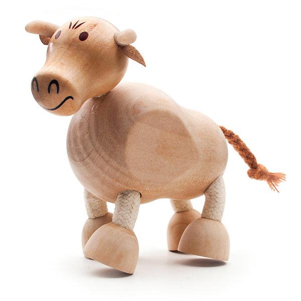 Бычок, AnaMalzДеревянные фигурки<br>AnaMalz – самые милые деревянные игрушки на свете!<br><br>Придуманные австралийским дизайнером Луизой Косан-Скотт,<br>игрушки AnaMalz завоевали более 15 отраслевых наград, включая Австралийскую международную награду в области дизайна, присуждаемую организацией Standards Australia.<br>- Игрушки AnaMalz предназначены для детей от 3 лет<br><br>- AnaMalz изготовлены из дерева, называемого schima superba или «игольчатое дерево» (быстрорастущее дерево, выращиваемое на лесных плантациях)<br><br>- Рога изготовлены из термопластичной резины (TPR) – материала, одобренного Управлением по контролю качества пищевых продуктов и медикаментов (FDA). Смесь TPR с древесной мукой является экологичной альтернативой пластмассе<br><br>- Все игрушки AnaMalz раскрашиваются вручную с использованием безопасной для детей краски и клея без содержания формальдегида<br><br>- Древесные отходы от производства AnaMalz используются на ферме для выращивания грибов<br><br>AnaMalz завоевали популярность во всем мире. Они стали участниками телевизионных шоу TODAY, шоу Марты Стюарт, Daily Candy Kids и USA Today Weekend. <br><br>Наши маленькие деревянные друзья покорили сердца самых строгих критиков отрасли – и получили множество «игрушечных» наград!<br><br>Ширина мм: 100<br>Глубина мм: 40<br>Высота мм: 100<br>Вес г: 74<br>Возраст от месяцев: 36<br>Возраст до месяцев: 168<br>Пол: Унисекс<br>Возраст: Детский<br>SKU: 3807612