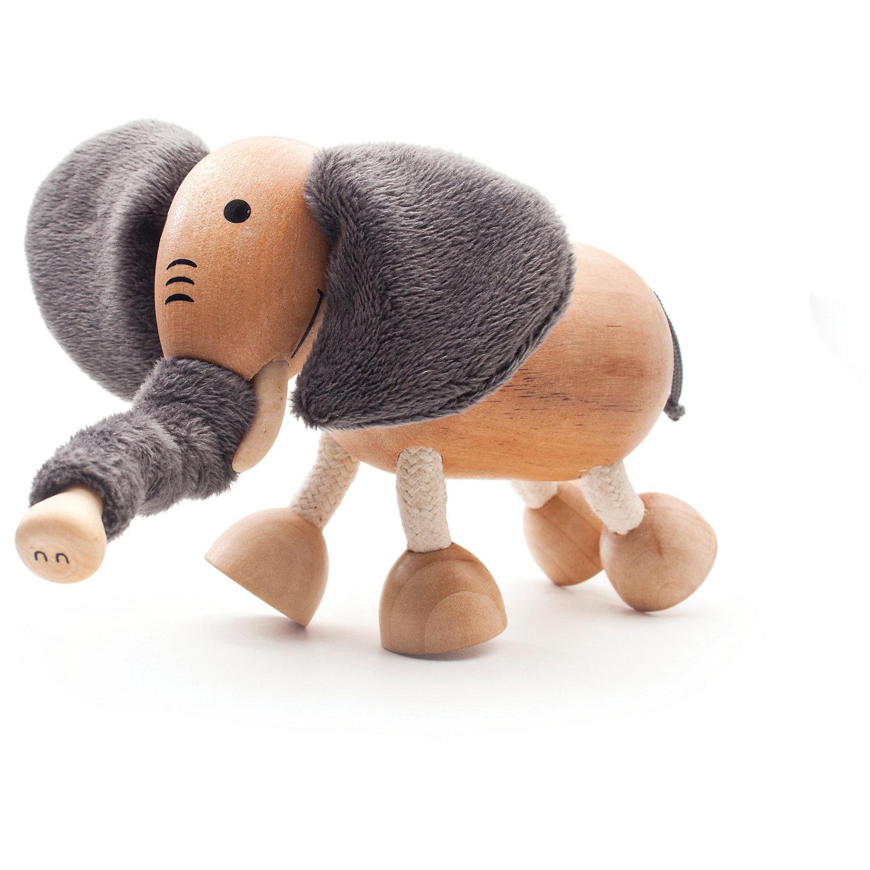 Слоненок, AnaMalzAnaMalz – самые милые деревянные игрушки на свете!<br><br>Придуманные австралийским дизайнером Луизой Косан-Скотт,<br>игрушки AnaMalz завоевали более 15 отраслевых наград, включая Австралийскую международную награду в области дизайна, присуждаемую организацией Standards Australia.<br>- Игрушки AnaMalz предназначены для детей от 3 лет<br><br>- AnaMalz изготовлены из дерева, называемого schima superba или «игольчатое дерево» (быстрорастущее дерево, выращиваемое на лесных плантациях)<br><br>- Рога изготовлены из термопластичной резины (TPR) – материала, одобренного Управлением по контролю качества пищевых продуктов и медикаментов (FDA). Смесь TPR с древесной мукой является экологичной альтернативой пластмассе<br><br>- Все игрушки AnaMalz раскрашиваются вручную с использованием безопасной для детей краски и клея без содержания формальдегида<br><br>- Древесные отходы от производства AnaMalz используются на ферме для выращивания грибов<br><br>AnaMalz завоевали популярность во всем мире. Они стали участниками телевизионных шоу TODAY, шоу Марты Стюарт, Daily Candy Kids и USA Today Weekend. <br><br>Наши маленькие деревянные друзья покорили сердца самых строгих критиков отрасли – и получили множество «игрушечных» наград!<br><br>Ширина мм: 110<br>Глубина мм: 60<br>Высота мм: 90<br>Вес г: 117<br>Возраст от месяцев: 36<br>Возраст до месяцев: 168<br>Пол: Унисекс<br>Возраст: Детский<br>SKU: 3807614