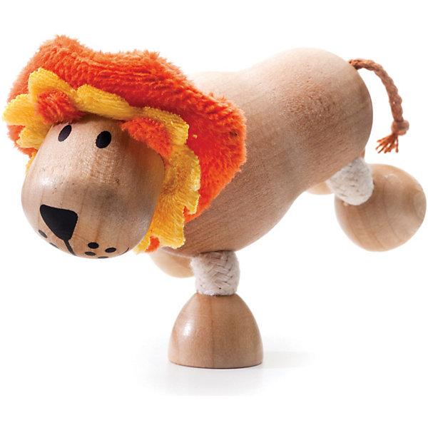Лёва, AnaMalzМир животных<br>AnaMalz – самые милые деревянные игрушки на свете!<br><br>Придуманные австралийским дизайнером Луизой Косан-Скотт,<br>игрушки AnaMalz завоевали более 15 отраслевых наград, включая Австралийскую международную награду в области дизайна, присуждаемую организацией Standards Australia.<br>- Игрушки AnaMalz предназначены для детей от 3 лет<br><br>- AnaMalz изготовлены из дерева, называемого schima superba или «игольчатое дерево» (быстрорастущее дерево, выращиваемое на лесных плантациях)<br><br>- Рога изготовлены из термопластичной резины (TPR) – материала, одобренного Управлением по контролю качества пищевых продуктов и медикаментов (FDA). Смесь TPR с древесной мукой является экологичной альтернативой пластмассе<br><br>- Все игрушки AnaMalz раскрашиваются вручную с использованием безопасной для детей краски и клея без содержания формальдегида<br><br>- Древесные отходы от производства AnaMalz используются на ферме для выращивания грибов<br><br>AnaMalz завоевали популярность во всем мире. Они стали участниками телевизионных шоу TODAY, шоу Марты Стюарт, Daily Candy Kids и USA Today Weekend. <br><br>Наши маленькие деревянные друзья покорили сердца самых строгих критиков отрасли – и получили множество «игрушечных» наград!<br><br>Ширина мм: 100<br>Глубина мм: 40<br>Высота мм: 90<br>Вес г: 60<br>Возраст от месяцев: 36<br>Возраст до месяцев: 168<br>Пол: Унисекс<br>Возраст: Детский<br>SKU: 3807617