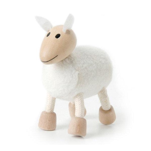 Овечка, AnaMalzМир животных<br>AnaMalz – самые милые деревянные игрушки на свете!<br><br>Придуманные австралийским дизайнером Луизой Косан-Скотт,<br>игрушки AnaMalz завоевали более 15 отраслевых наград, включая Австралийскую международную награду в области дизайна, присуждаемую организацией Standards Australia.<br>- Игрушки AnaMalz предназначены для детей от 3 лет<br><br>- AnaMalz изготовлены из дерева, называемого schima superba или «игольчатое дерево» (быстрорастущее дерево, выращиваемое на лесных плантациях)<br><br>- Рога изготовлены из термопластичной резины (TPR) – материала, одобренного Управлением по контролю качества пищевых продуктов и медикаментов (FDA). Смесь TPR с древесной мукой является экологичной альтернативой пластмассе<br><br>- Все игрушки AnaMalz раскрашиваются вручную с использованием безопасной для детей краски и клея без содержания формальдегида<br><br>- Древесные отходы от производства AnaMalz используются на ферме для выращивания грибов<br><br>AnaMalz завоевали популярность во всем мире. Они стали участниками телевизионных шоу TODAY, шоу Марты Стюарт, Daily Candy Kids и USA Today Weekend. <br><br>Наши маленькие деревянные друзья покорили сердца самых строгих критиков отрасли – и получили множество «игрушечных» наград!<br><br>Ширина мм: 70<br>Глубина мм: 40<br>Высота мм: 80<br>Вес г: 40<br>Возраст от месяцев: 36<br>Возраст до месяцев: 168<br>Пол: Унисекс<br>Возраст: Детский<br>SKU: 3807620
