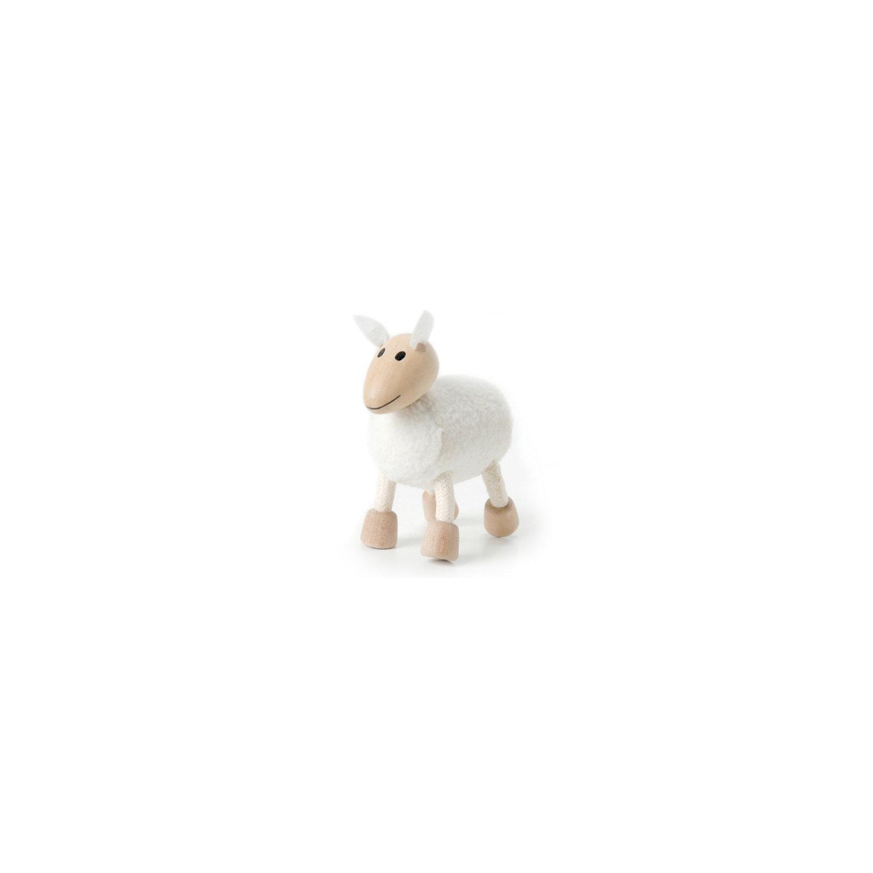 Овечка, AnaMalzAnaMalz – самые милые деревянные игрушки на свете!<br><br>Придуманные австралийским дизайнером Луизой Косан-Скотт,<br>игрушки AnaMalz завоевали более 15 отраслевых наград, включая Австралийскую международную награду в области дизайна, присуждаемую организацией Standards Australia.<br>- Игрушки AnaMalz предназначены для детей от 3 лет<br><br>- AnaMalz изготовлены из дерева, называемого schima superba или «игольчатое дерево» (быстрорастущее дерево, выращиваемое на лесных плантациях)<br><br>- Рога изготовлены из термопластичной резины (TPR) – материала, одобренного Управлением по контролю качества пищевых продуктов и медикаментов (FDA). Смесь TPR с древесной мукой является экологичной альтернативой пластмассе<br><br>- Все игрушки AnaMalz раскрашиваются вручную с использованием безопасной для детей краски и клея без содержания формальдегида<br><br>- Древесные отходы от производства AnaMalz используются на ферме для выращивания грибов<br><br>AnaMalz завоевали популярность во всем мире. Они стали участниками телевизионных шоу TODAY, шоу Марты Стюарт, Daily Candy Kids и USA Today Weekend. <br><br>Наши маленькие деревянные друзья покорили сердца самых строгих критиков отрасли – и получили множество «игрушечных» наград!<br><br>Ширина мм: 70<br>Глубина мм: 40<br>Высота мм: 80<br>Вес г: 40<br>Возраст от месяцев: 36<br>Возраст до месяцев: 168<br>Пол: Унисекс<br>Возраст: Детский<br>SKU: 3807620