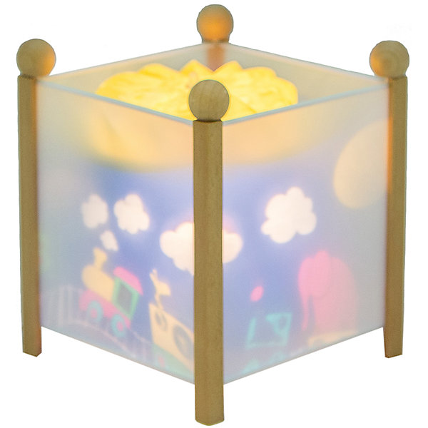 Светильник-ночник Паровозик, 12V, TrousselierДетские предметы интерьера<br>Светильник-ночник Паровозик, 12V, Trousselier сделан в виде симпатичной игрушки, которая делает приятным и уютным погружение в сладкий мир сновидений.<br><br>Он светится нежным мягким светом, не раздражающим глазки даже ночью. Внутрь светильника встроен специальный механизм, вращающий цилиндр ночника от тепла лампочки. Ночник упакован в праздничную коробку, что дает возможность преподнести его в качестве подарка на праздник.<br><br>Дополнительная информация:<br><br>- Цилиндр ночника вращается благодаря  системе нагрева от лампочки 12 V 20 W, розетка E 14.C. <br>- Размер: 16,50 см x 19 см. <br>- Материал: металлический корпус, деревянные ножки и углы, пластиковый, жароустойчивый цилиндр.<br>- Вес: 1037 г<br>- Поставляется в подарочной упаковке.<br>Соответствует нормам безопасности: CE EN 60598-2-10<br><br>Светильник-ночник Паровозик, 12V, Trousselier можно купить в нашем магазине.<br><br>Ширина мм: 160<br>Глубина мм: 160<br>Высота мм: 190<br>Вес г: 1037<br>Возраст от месяцев: 36<br>Возраст до месяцев: 144<br>Пол: Мужской<br>Возраст: Детский<br>SKU: 3807745