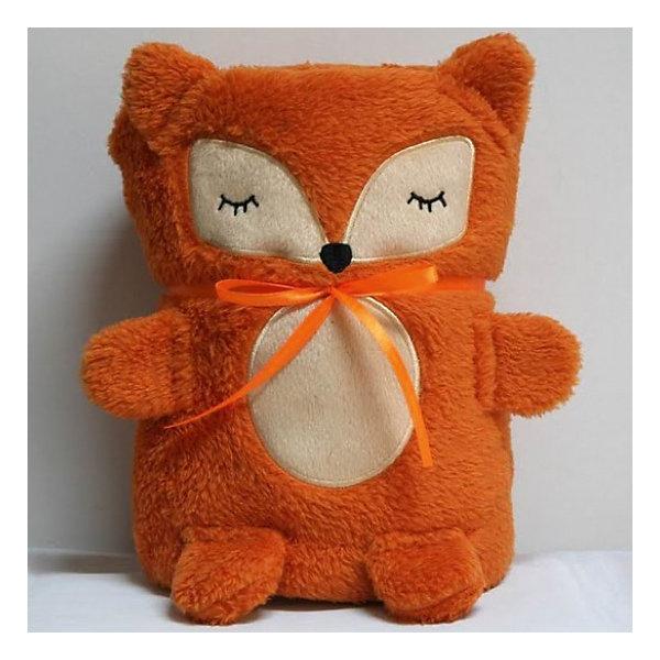 Трансформер Плед-Игрушка Оранжевая Лисичка, 60x90 см, Coool ToysМягкие игрушки животные<br>Эта мягкая игрушка легко трансформируется в удобный и мягкий плед, накрывшись которым, ребеночку будет тепло и уютно. Нужно лишь расстегнуть пуговичку у игрушки и она превратится в мягкий плед. Игрушку-плед можно взять с собой в дорогу или на прогулку, в сложенном виде он не занимает много места.<br><br>Дополнительная информация:<br><br>- Размер пледа в сложенном виде: 15 х 10 х 22 см;<br>- Размер пледа в развернутом виде: 60 х 90 см; <br>- Материал: мягкий, стойкий к загрязнениям и легко стирающийся полиэстер. <br><br>Трансформер Плед-Игрушку  Оранжевая Лисичка, 60x90 см, Coool Toys можно купить в нашем магазине.<br><br>Ширина мм: 100<br>Глубина мм: 150<br>Высота мм: 220<br>Вес г: 400<br>Возраст от месяцев: 0<br>Возраст до месяцев: 120<br>Пол: Унисекс<br>Возраст: Детский<br>SKU: 3810091