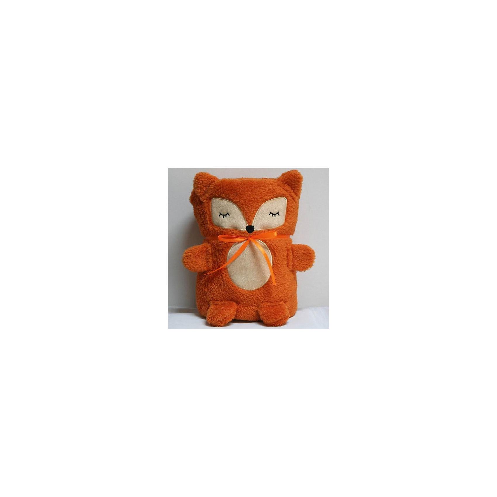 Трансформер Плед-Игрушка Оранжевая Лисичка, 60x90 см, Coool ToysЭта мягкая игрушка легко трансформируется в удобный и мягкий плед, накрывшись которым, ребеночку будет тепло и уютно. Нужно лишь расстегнуть пуговичку у игрушки и она превратится в мягкий плед. Игрушку-плед можно взять с собой в дорогу или на прогулку, в сложенном виде он не занимает много места.<br><br>Дополнительная информация:<br><br>- Размер пледа в сложенном виде: 15 х 10 х 22 см;<br>- Размер пледа в развернутом виде: 60 х 90 см; <br>- Материал: мягкий, стойкий к загрязнениям и легко стирающийся полиэстер. <br><br>Трансформер Плед-Игрушку  Оранжевая Лисичка, 60x90 см, Coool Toys можно купить в нашем магазине.<br><br>Ширина мм: 100<br>Глубина мм: 150<br>Высота мм: 220<br>Вес г: 400<br>Возраст от месяцев: 0<br>Возраст до месяцев: 120<br>Пол: Унисекс<br>Возраст: Детский<br>SKU: 3810091