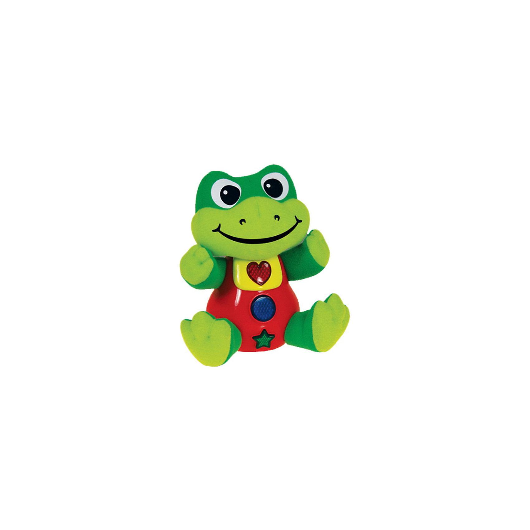 Умный лягушонок, со светом и звуком, 22см,  The Learning Journey