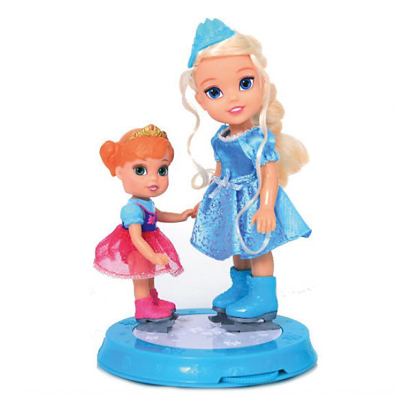 Набор Холодное сердце: на катке,  Принцессы ДиснейИгрушки<br>Малышка Эльза и ее сестра Анна  не оставят равнодушной ни одну девочку. Маленькие принцессы весело и беззаботно проводят время на катке. Они обязательно порадуют свою новую подругу! Куколки выполнены из прочных нетоксичных и противоаллергенных материалов. Одеты они в красивые сверкающие платьица, на ногах- настоящие маленькие коньки. Набор Холодное сердце: на катке станет прекрасным подарком для любой девочки!<br><br>Дополнительная информация:<br><br>- Комплектация: каток с механизмом, кукла Анна, кукла Эльза.<br>- Размер мини-фигурки: Анна- 12 см, Эльза-15 см.<br>- Материал: пластик, текстиль<br><br>Набор Холодное сердце: на катке,  Disney Princess (Принцессы Диснея)можно купить в нашем магазине<br><br>Ширина мм: 102<br>Глубина мм: 305<br>Высота мм: 191<br>Вес г: 700<br>Возраст от месяцев: 36<br>Возраст до месяцев: 84<br>Пол: Женский<br>Возраст: Детский<br>SKU: 3818569