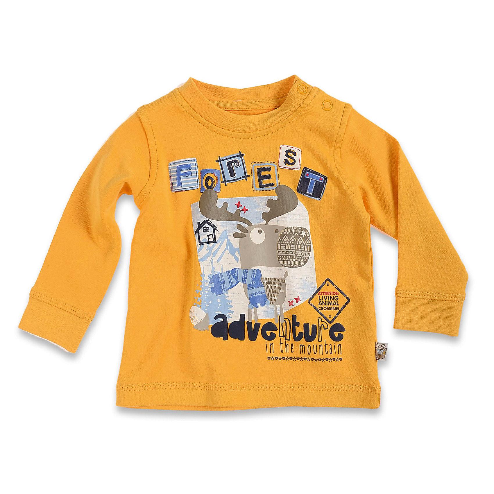 Футболка с длинным рукавом для мальчика BLUE SEVENФутболка с длинным рукавом для мальчика Blue Seven. Состав: 100 % хлопок<br><br>Ширина мм: 157<br>Глубина мм: 13<br>Высота мм: 119<br>Вес г: 200<br>Цвет: желтый<br>Возраст от месяцев: 0<br>Возраст до месяцев: 3<br>Пол: Мужской<br>Возраст: Детский<br>Размер: 56,62,68<br>SKU: 3819867