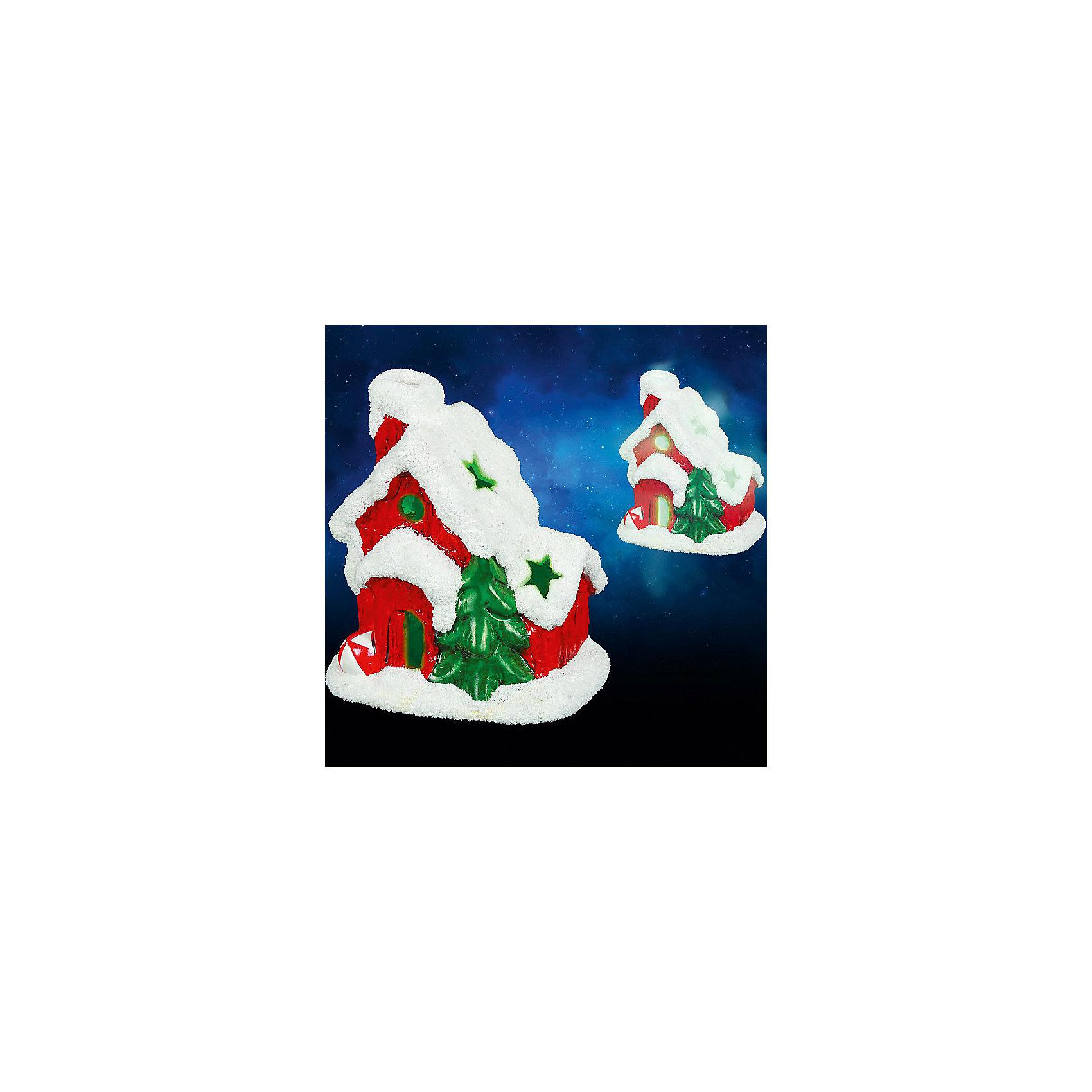 Керамический сувенир Домик с подсветкой, 9х7х10 смВсё для праздника<br>Керамический сувенир Домик с подсветкой. Прекрасный новогодний сувенир обязательно создаст атмосферу праздника. <br><br>Дополнительная информация:<br><br>- Материал: керамика<br>- Размер: 9х7х10 см<br>- Цвет: красный, белый, зеленый<br>- Работает от батарейки<br><br>Керамический сувенир с подсветкой Домик можно купить в нашем магазине.<br><br>Ширина мм: 250<br>Глубина мм: 100<br>Высота мм: 100<br>Вес г: 250<br>Возраст от месяцев: 36<br>Возраст до месяцев: 216<br>Пол: Унисекс<br>Возраст: Детский<br>SKU: 3822110