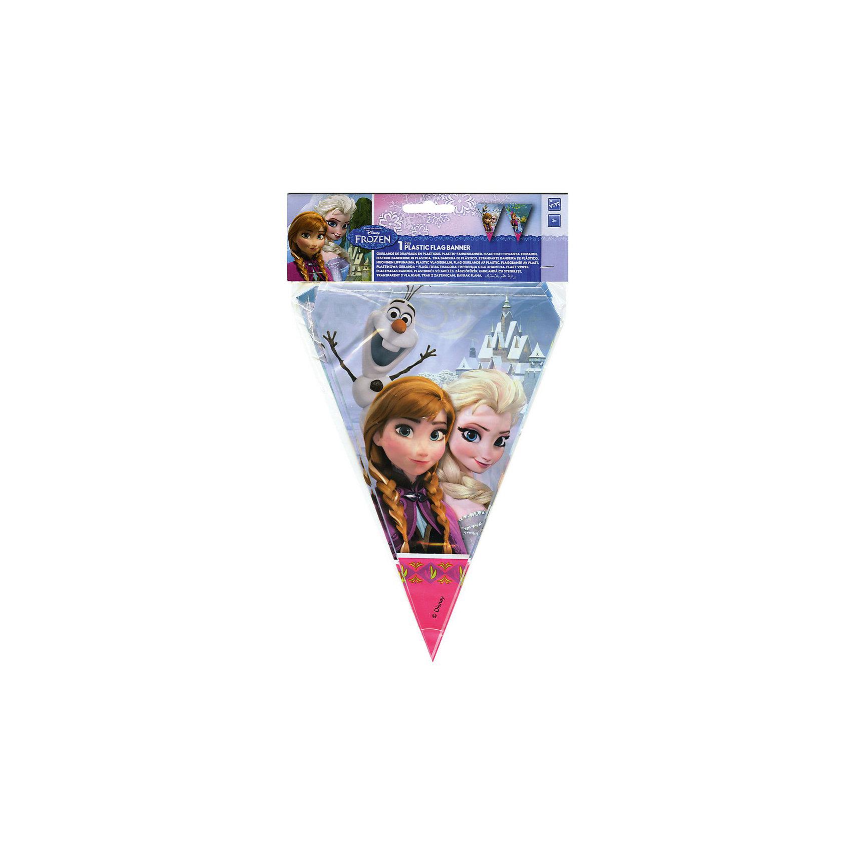 Гирлянда Холодное сердцеГирлянда Холодное сердце,  замечательно украсит комнату маленькой принцессы во время праздника или торжества и создаст настроение сказки и волшебства. Красочная гирлянда украшена изображениями сестер Анны и Эльзы из популярного диснеевского мультфильма Холодное сердце.<br><br>Дополнительная информация:<br><br>- Материал: ПВХ.<br>- Размер упаковки: 26 х 19 х 2 см. <br>- Вес: 90 гр.<br><br>Гирлянду Холодное сердце,  можно купить в нашем интернет-магазине.<br><br>Ширина мм: 2<br>Глубина мм: 32<br>Высота мм: 225<br>Вес г: 39<br>Возраст от месяцев: -2147483648<br>Возраст до месяцев: 2147483647<br>Пол: Женский<br>Возраст: Детский<br>SKU: 3823867