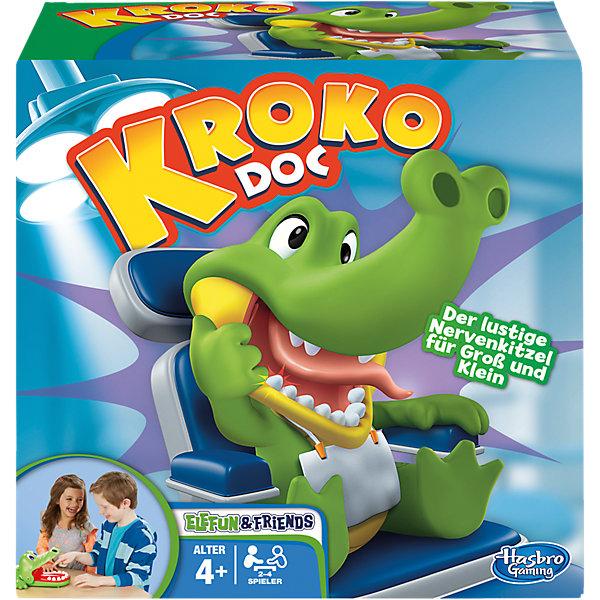 Крокодильчик Дантист, HasbroХиты продаж<br>Крокодильчик Дантист, Hasbro - веселая настольная игра, в которую можно играть всей семьей или компанией друзей. Цель игры - найти больной зуб у забавного крокодильчика. В игре могут участвовать от двух до четырех игроков. Участники по очереди нажимают на зубы крокодильчика, стараясь не попасть на больной зуб. Стоит только надавить на больной зуб как крокодильчик сразу захлопнет рот, что будет означать проигрыш. Победителем становится игрок, не задевший больной зуб и оставшийся в игре. Игра способствует развитию внимания, реакции и ловкости.<br><br>Дополнительная информация:<br><br>- В комплекте: крокодильчик, правила игры.<br>- Материал: пластик.<br>- Размер упаковки: 26,7 х 26,7 х 8,1 см.<br>- Вес: 0,848 кг.<br><br>Игру Крокодильчик Дантист, Hasbro, можно купить в нашем интернет-магазине.<br><br>Ширина мм: 268<br>Глубина мм: 266<br>Высота мм: 150<br>Вес г: 733<br>Возраст от месяцев: 48<br>Возраст до месяцев: 72<br>Пол: Унисекс<br>Возраст: Детский<br>SKU: 3824997