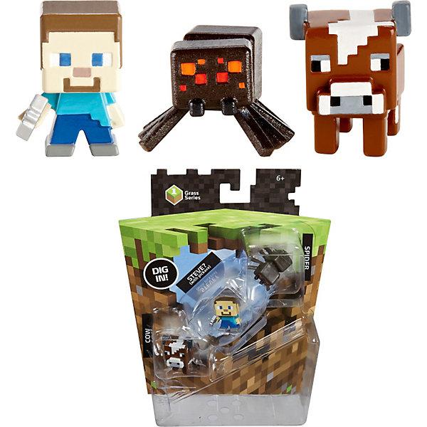 Набор из 3х фигурок  Minecraft, в ассортиментеИгровые наборы с фигурками<br>Все поклонники известной игры придут в восторг от такого набора. Игрушки прекрасно детализированы, очень похожи на персонажей Майнкрафт. Сделанные в 8-битном стиле, как и игра, эти фигурки позволят вашим детям играть с их любимыми персонажами где угодно!  Какие именно фигурки тебе попадется - сюрприз. Ты узнаешь от этом вскрыв упаковку. Собери все фигурки и преврати игру в реальность!<br><br>Дополнительная информация:<br><br>- Материал: пластик.<br>- Конечности, голова некоторых фигурок подвижные.<br>- Размер фигурки: 6 см. <br>- Фигурки в ассортименте.<br>ВНИМАНИЕ! Данный артикул представлен в разных вариантах исполнения. К сожалению, заранее выбрать определенный вариант невозможно. При заказе нескольких фигурок возможно получение одинаковых.<br><br>Набор из 3х фигурок  Minecraft (Майнкрафт), в ассортименте, можно купить в нашем магазине.<br><br>Ширина мм: 166<br>Глубина мм: 137<br>Высота мм: 30<br>Вес г: 37<br>Возраст от месяцев: 36<br>Возраст до месяцев: 96<br>Пол: Мужской<br>Возраст: Детский<br>SKU: 3825578