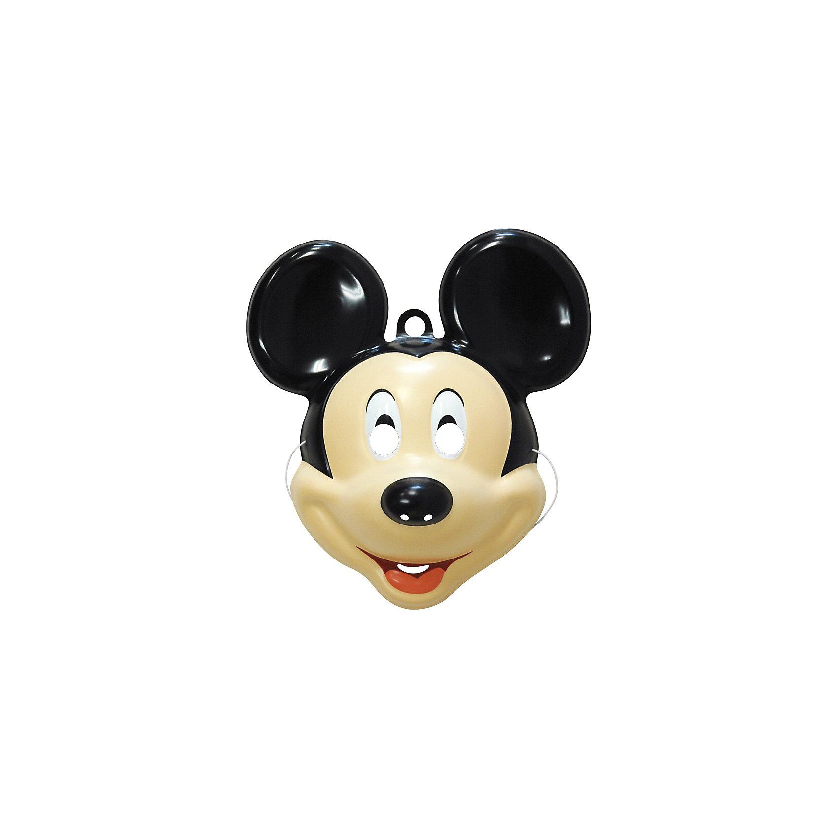 Маска Микки Маус, РосмэнОтправляясь на детский праздник, почему бы не создать образ знаменитого Микки Мауса? Для этого пригодится маска, которую можно использовать даже в качестве единственного карнавального элемента в одежде малыша. Надев ее, юный участник костюмированного представления легко перевоплощается в любимого персонажа.&#13;<br><br>Дополнительная информация: <br><br>- Материал: пластик.<br>- Размер: 23 х 8 х 26,5 см. <br>- Маска на резинке (входит в комплект).<br><br>Маску Микки Маус (Mickey Mouse), Росмэн можно купить в нашем магазине.<br><br>Ширина мм: 230<br>Глубина мм: 80<br>Высота мм: 265<br>Вес г: 30<br>Возраст от месяцев: 36<br>Возраст до месяцев: 108<br>Пол: Мужской<br>Возраст: Детский<br>SKU: 3825969