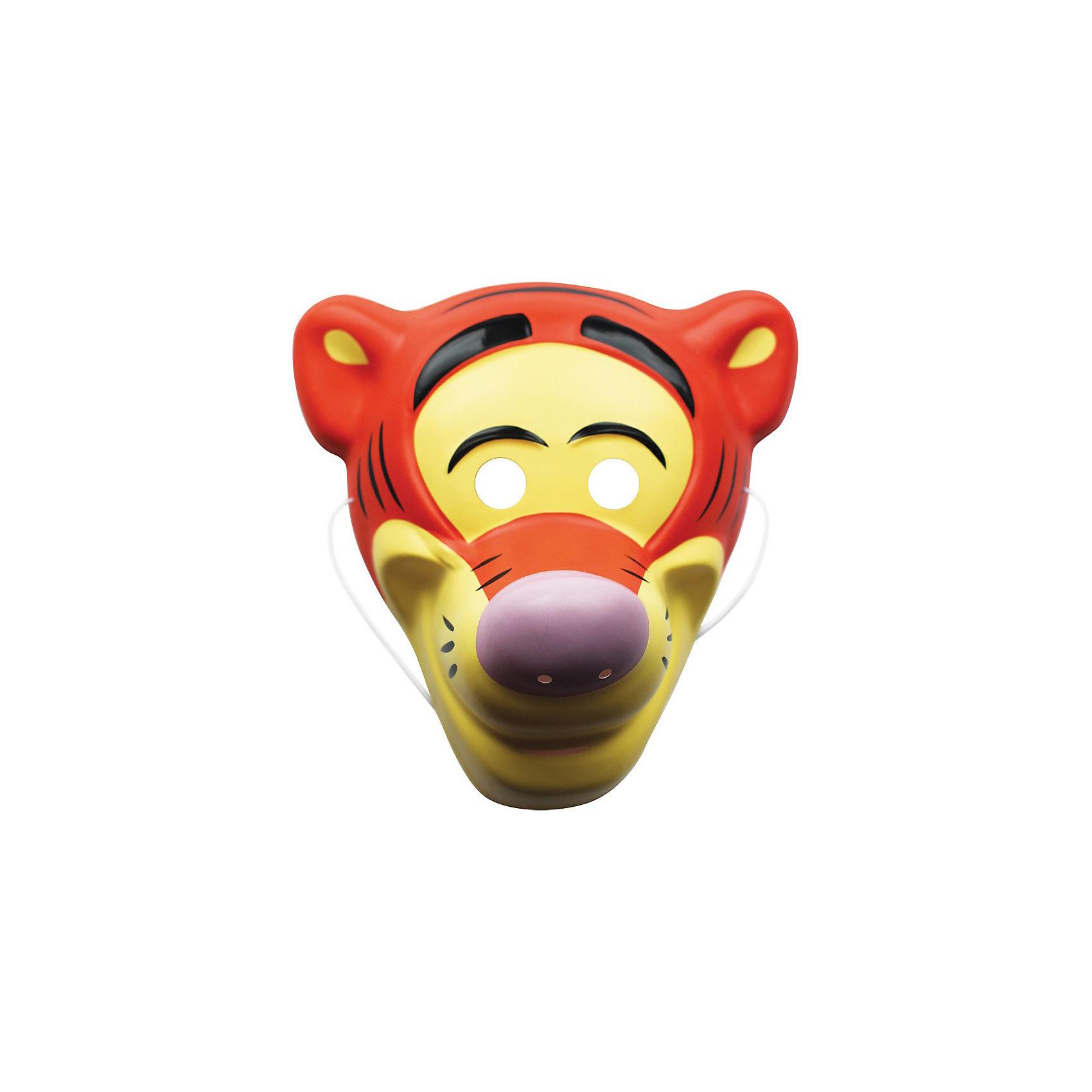 Маска Тигра, Винни Пух, РосмэнОтправляясь на детский праздник, почему бы не создать образ веселого Тигры из мультфильма «Винни-Пух»? Для этого пригодится маска, которую можно использовать даже в качестве единственного карнавального элемента в одежде малыша. Надев ее, юный участник костюмированного представления легко перевоплощается в любимого персонажа.&#13;<br><br>Дополнительная информация: <br><br>- Материал: пластик.<br>- Размер:  25 х 11 х 21 см.<br>- Маска на резинке (входит в комплект).<br><br>Маску Тигра, Винни Пух, Росмэн можно купить в нашем магазине.<br><br>Ширина мм: 250<br>Глубина мм: 110<br>Высота мм: 210<br>Вес г: 30<br>Возраст от месяцев: 36<br>Возраст до месяцев: 108<br>Пол: Унисекс<br>Возраст: Детский<br>SKU: 3825972