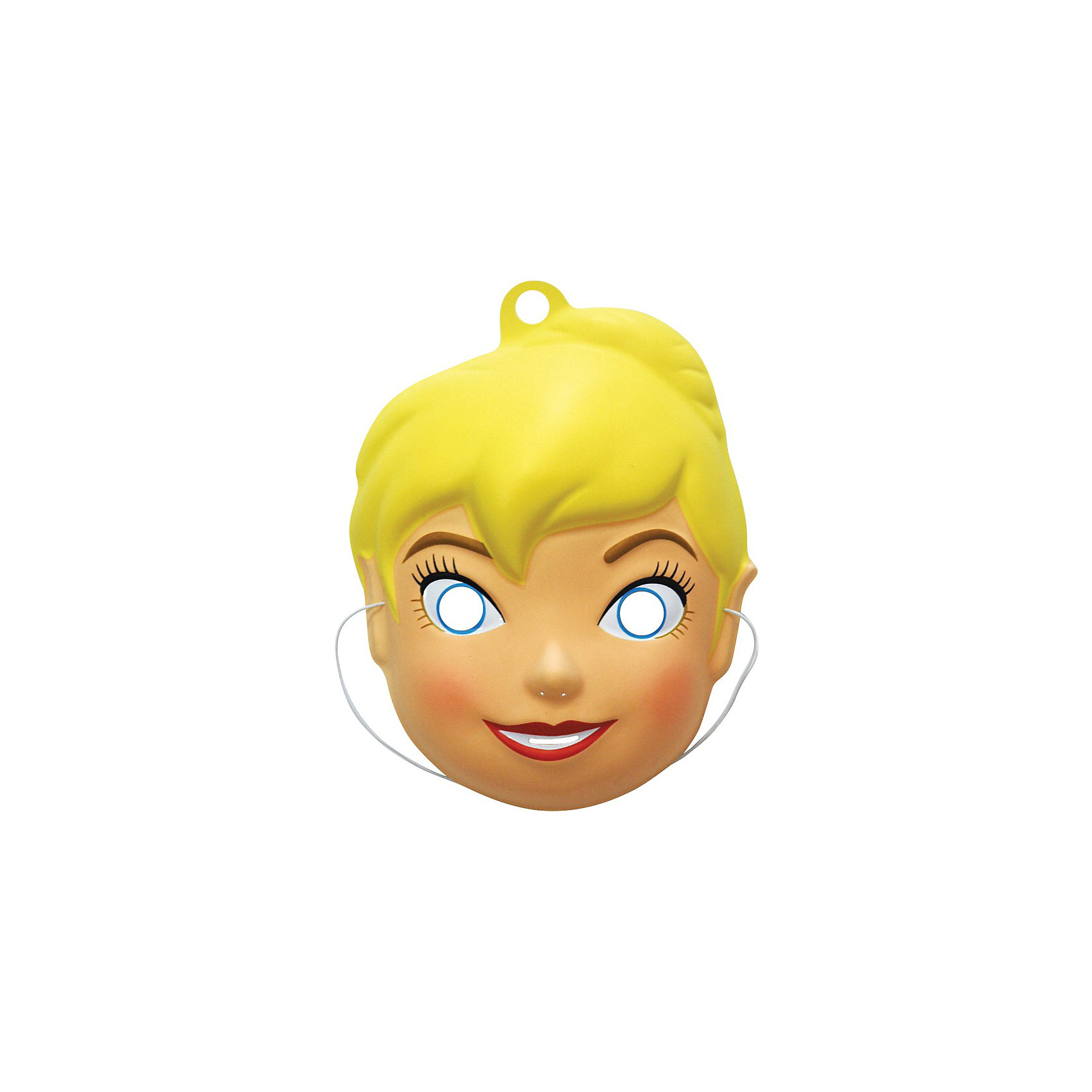 Маска Фея Динь-Динь, РосмэнФеи Дисней<br>Отправляясь на детский праздник, почему бы не создать образ очаровательной феи Динь-Динь? Для этого пригодится маска, которую можно использовать даже в качестве единственного карнавального элемента в одежде малышки. Надев ее, малютка легко перевоплощается в любимого персонажа.&#13;<br><br>Дополнительная информация: <br><br>- Материал: пластик.<br>- Размер:  16,5 х 4,5 х 22,5 см..<br>- Маска на резинке (входит в комплект).<br><br>Маску  Фея Динь-Динь, Росмэн можно купить в нашем магазине.<br><br>Ширина мм: 165<br>Глубина мм: 45<br>Высота мм: 225<br>Вес г: 30<br>Возраст от месяцев: 36<br>Возраст до месяцев: 108<br>Пол: Женский<br>Возраст: Детский<br>SKU: 3825973