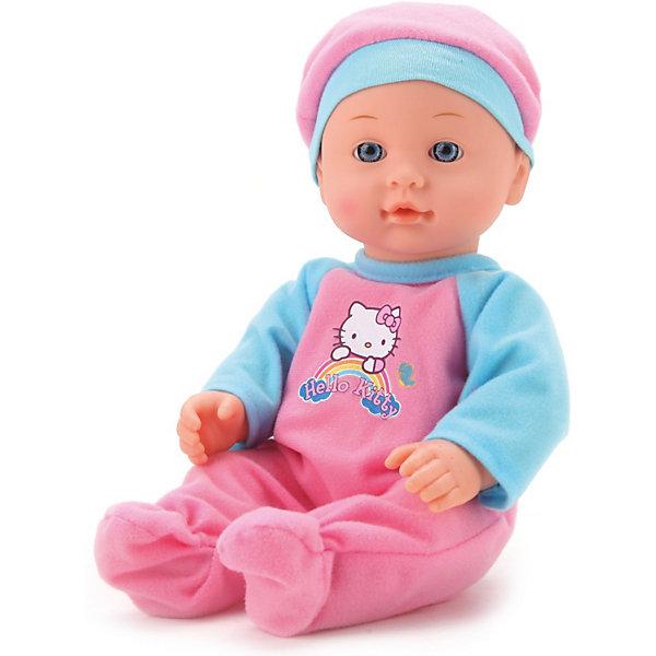 Кукла с аксессуарами, 30 см, Hello KittyКуклы<br>Кукла с аксессуарами, 30 см, Hello Kitty, в ассортименте – это чудесная кукла, которая покорит вашу девочку.<br>Кукла Hello kitty, если напоить пупса водой из бутылочки, то он будет писать в свой горшочек. Куклу можно купать. Она одета в милый костюмчик с дизайном Hello kitty.<br><br>Дополнительная информация:<br><br>- В комплекте бутылочка, горшочек и слюнявчик<br>- Высота куклы: 30 см.<br>- ВНИМАНИЕ! Данный товар представлен в ассортименте. К сожалению, предварительный выбор невозможен. При заказе нескольких единиц данного товара, возможно получение одинаковых<br><br>Куклу с аксессуарами, 30 см, Hello Kitty (Хелло Китти), в ассортименте можно купить в нашем интернет-магазине.<br><br>Ширина мм: 200<br>Глубина мм: 100<br>Высота мм: 330<br>Вес г: 620<br>Возраст от месяцев: 24<br>Возраст до месяцев: 84<br>Пол: Женский<br>Возраст: Детский<br>SKU: 3826598