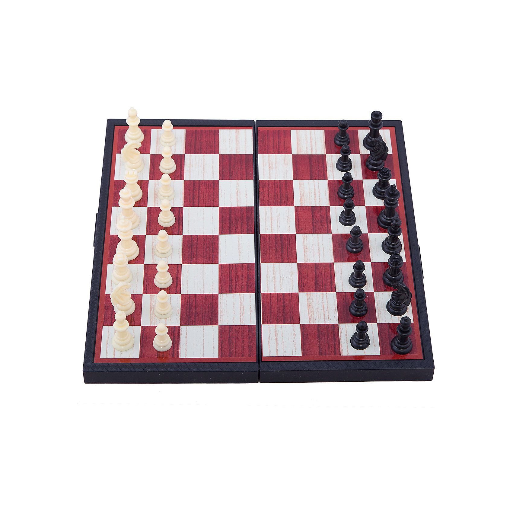 Играем вместе Магнитные шахматы 3-в-1: шахматы, шашки, нарды, Играем вместе дорожные шахматы
