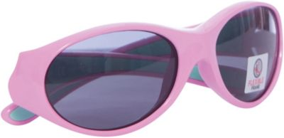 ќчки солнцезащитные FLEXXY GIRL, розово-салатовые, ALPINA