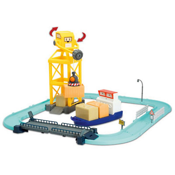 Игровой набор «Порт с разводным мостом», Робокар ПолиИгрушки<br>Порт с разводным мостом, Робокар Поли - увлекательный игровой набор, который обязательно понравится всем юным поклонникам мультсериала Робокар Поли (Robocar Poli).<br>Спасательная команда служебных машинок всегда готова прийти на помощь жителям городка Брумстаун и выручить в любой ситуации. В комплекте Вы найдете детали городского порта с разводным мостом и металлическую фигурку контейнеровоза Терри.<br><br>В центральной части порта расположилась стоянка грузовых кораблей, портовый кран с вращающейся кабиной переносит грузы на корабль, а контейнеровоз Терри по специальной дорожке доставляет грузы в порт. Разведя мост, можно будет вывести кораблик из порта и направить в пункт назначения. Набор совместим с другими наборами серии Робокар Поли. Все детали имеют скругленные углы и безопасны для детей.<br><br>Дополнительная информация:<br><br>- В комплекте: порт с раздвижным мостом, машинка Терри. <br>- Материал: пластик, металл.<br>- Размер машинки Терри: 12 см.<br>- Размер упаковки: 10 x 30 x 25 см.<br>- Вес: 0,85 кг.<br><br>Игровой набор Порт с разводным мостом, Робокар Поли можно купить в нашем интернет-магазине.<br>Ширина мм: 430; Глубина мм: 160; Высота мм: 310; Вес г: 1628; Возраст от месяцев: 36; Возраст до месяцев: 84; Пол: Мужской; Возраст: Детский; SKU: 3827052;